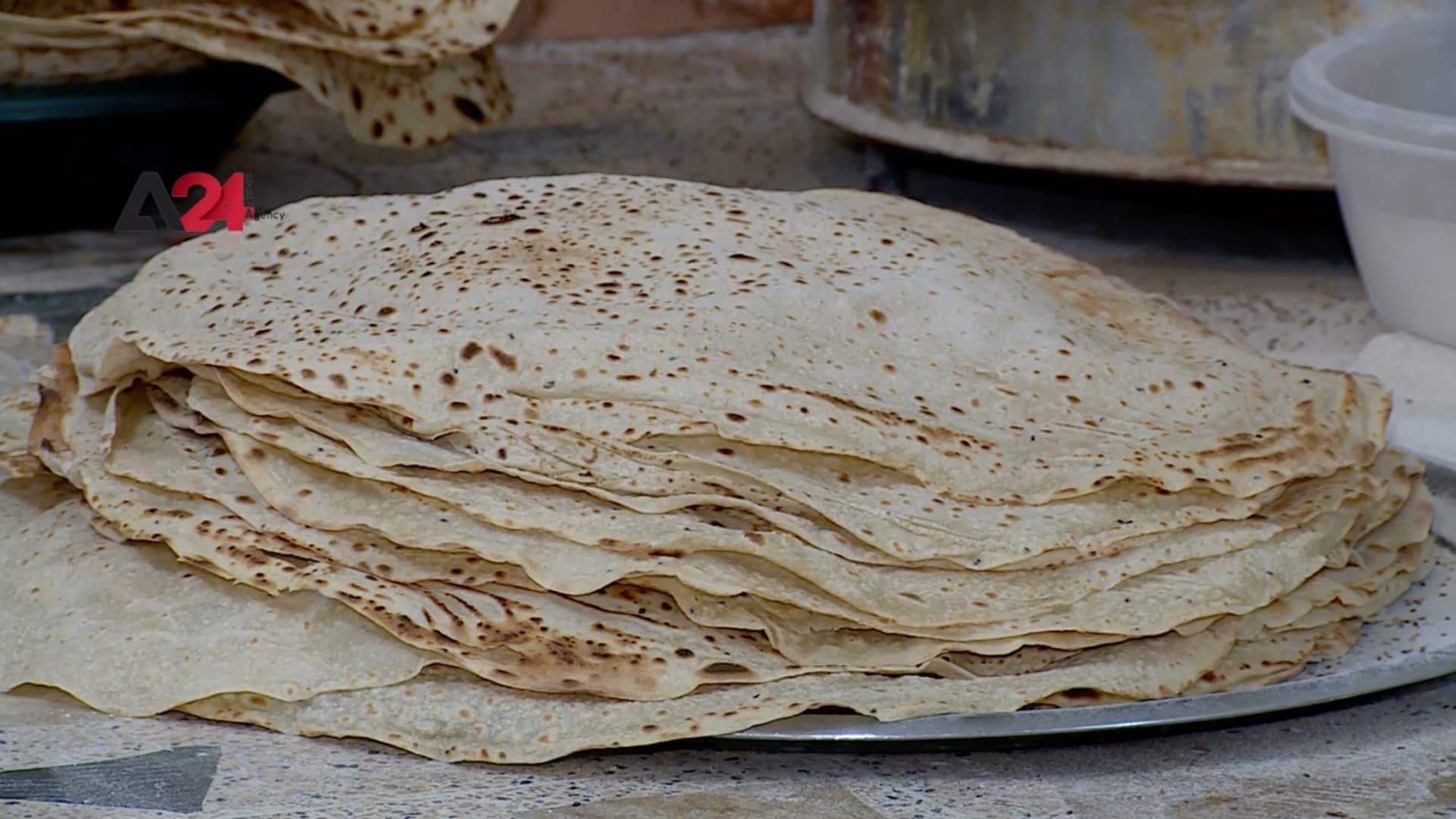 """خبز """"الرقاق"""" في إقليم كردستان تراث يلاقي إقبالا في الأسواق"""