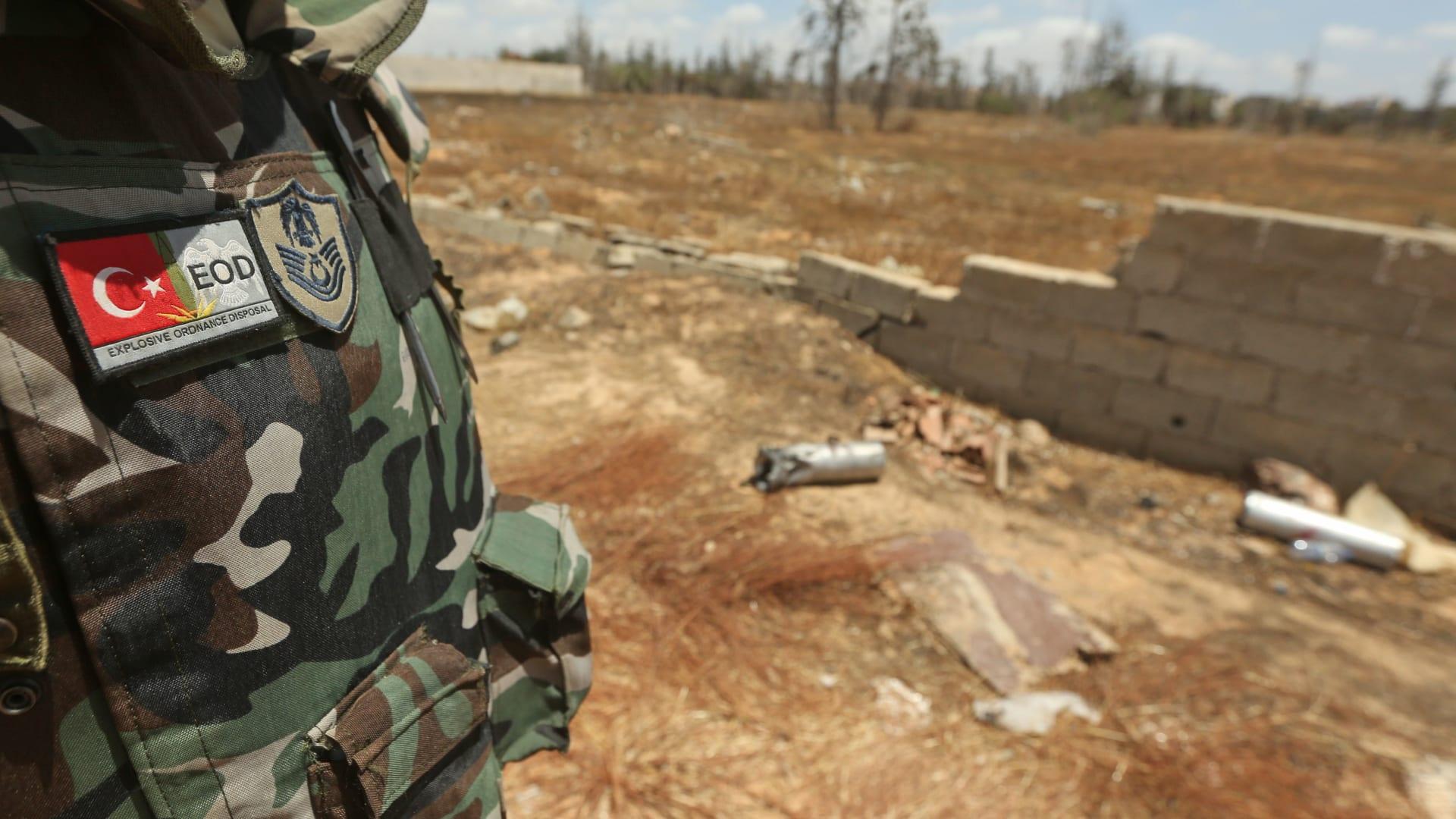 """مصدر عسكري تركي: قتلى من """"الفاغنر"""" الروسي في ليبيا بغارات لسلاح الجو التابع لحكومة الوفاق"""