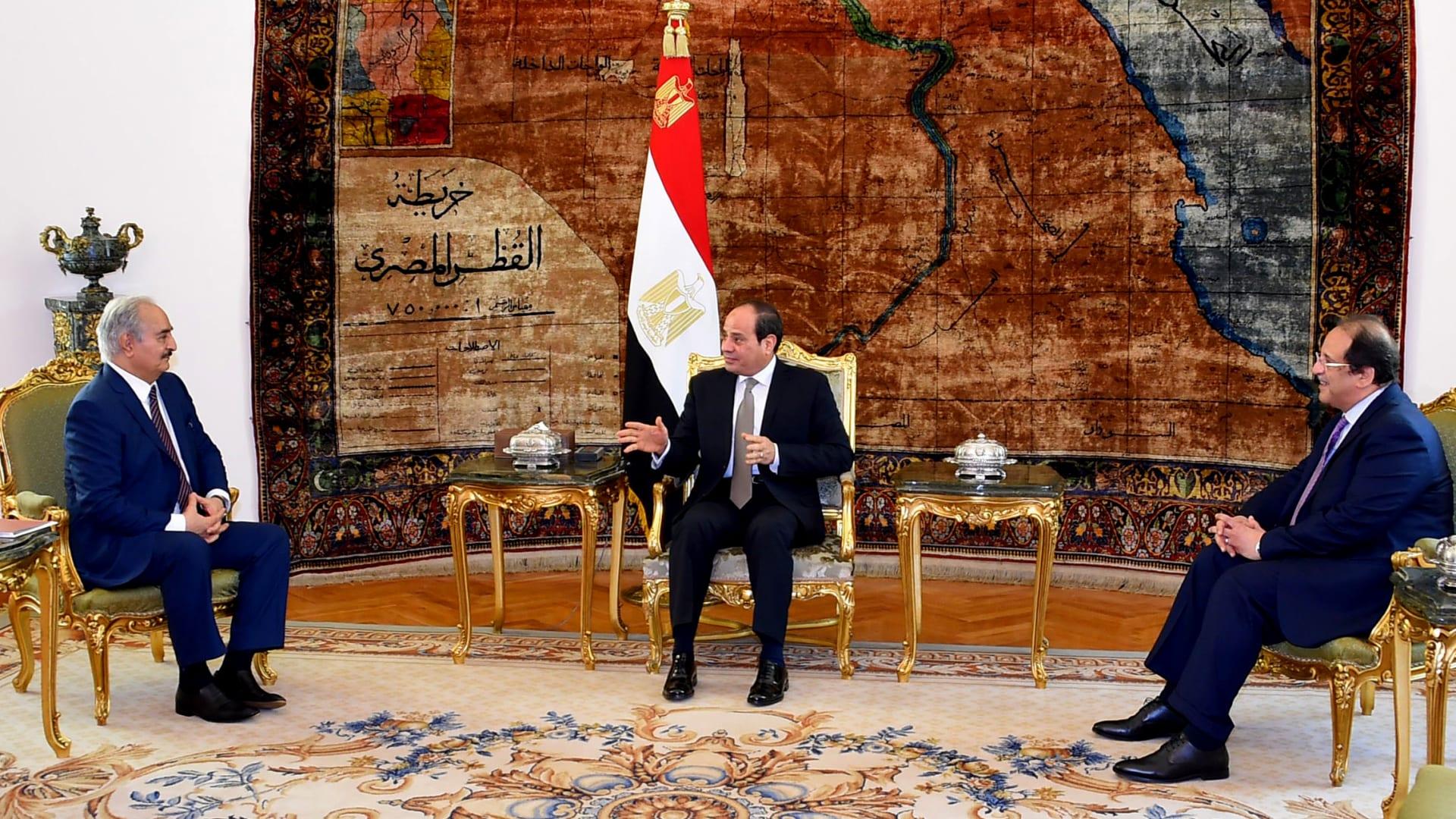 مصر تدافع عن شرعية تدخلها في ليبيا وترد على تركيا: نواجه التطرف الذي جُلب من سوريا