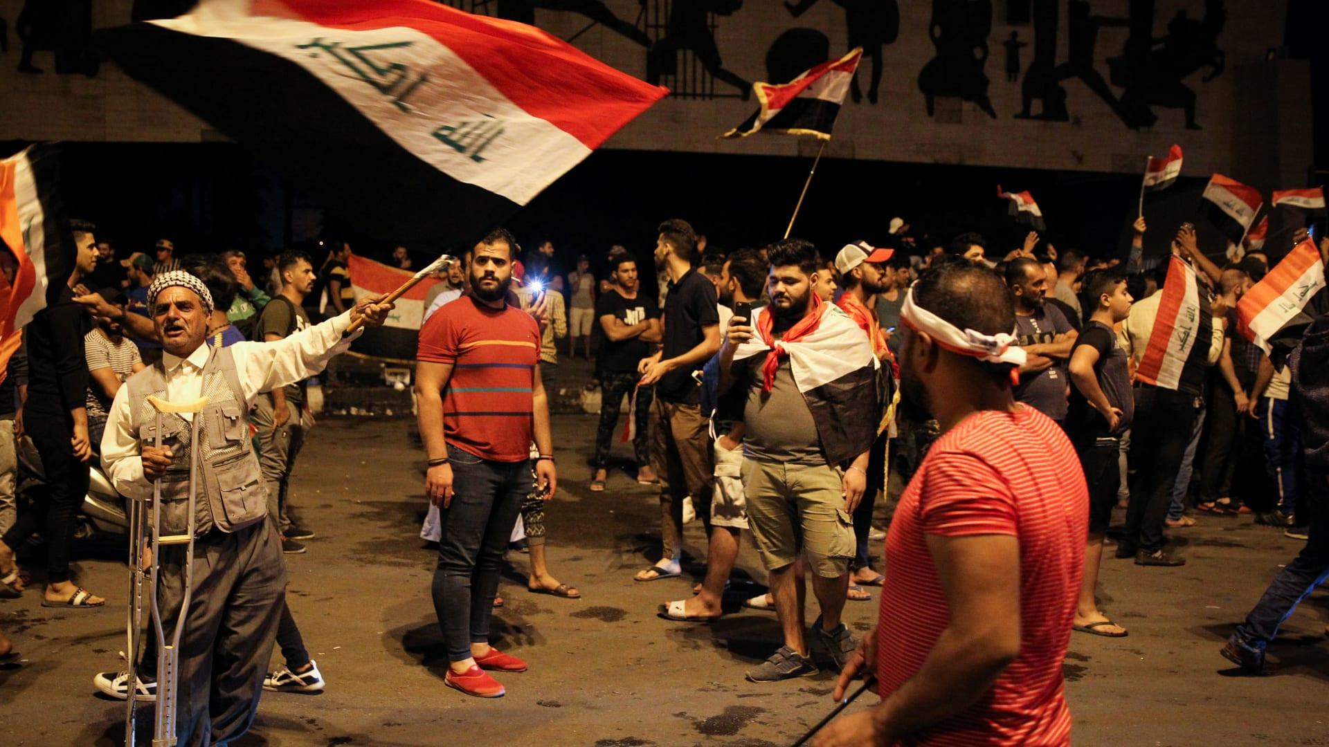 """أحداث ساحة التحرير.. الجيش العراقي يعلن فتح تحقيق ويرفض """"الاستفزاز"""""""