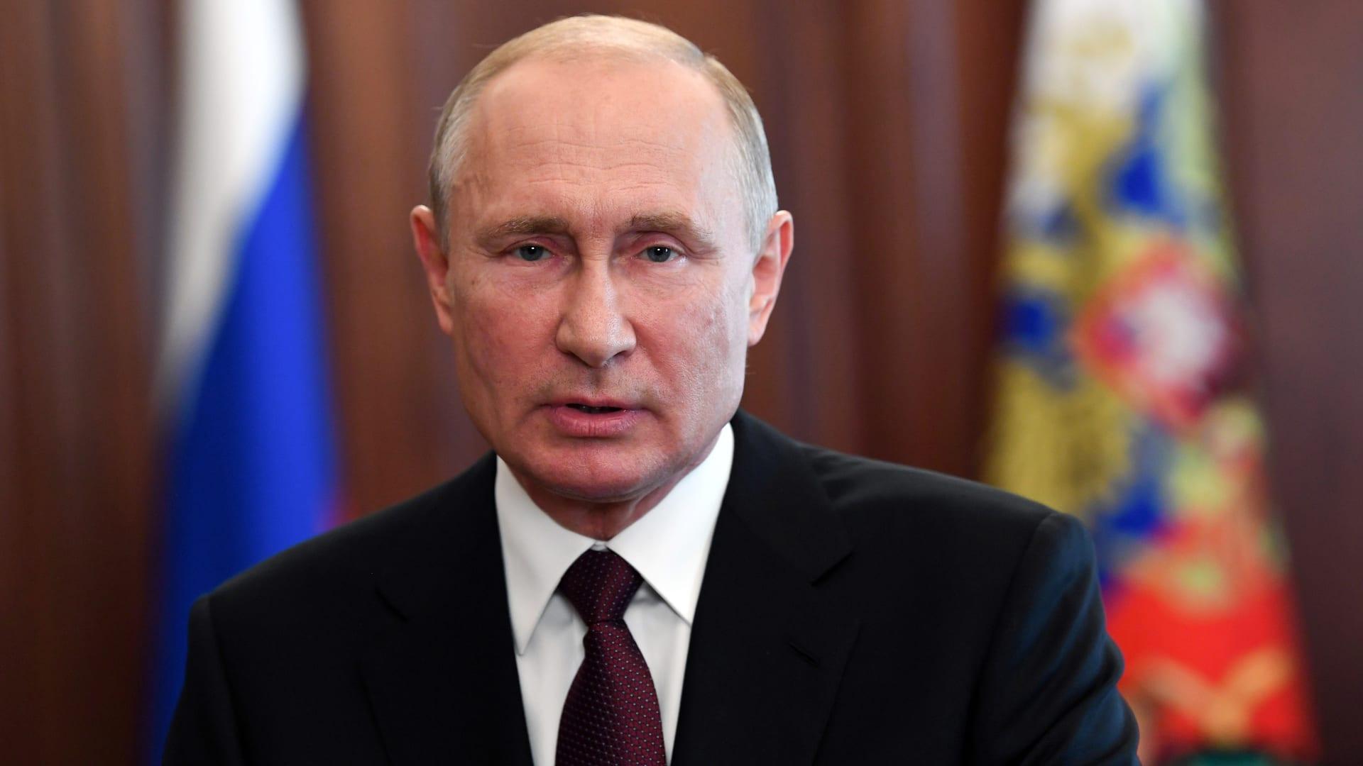 بوتين: البحرية الروسية ستحوز أسلحة نووية أسرع من الصوت