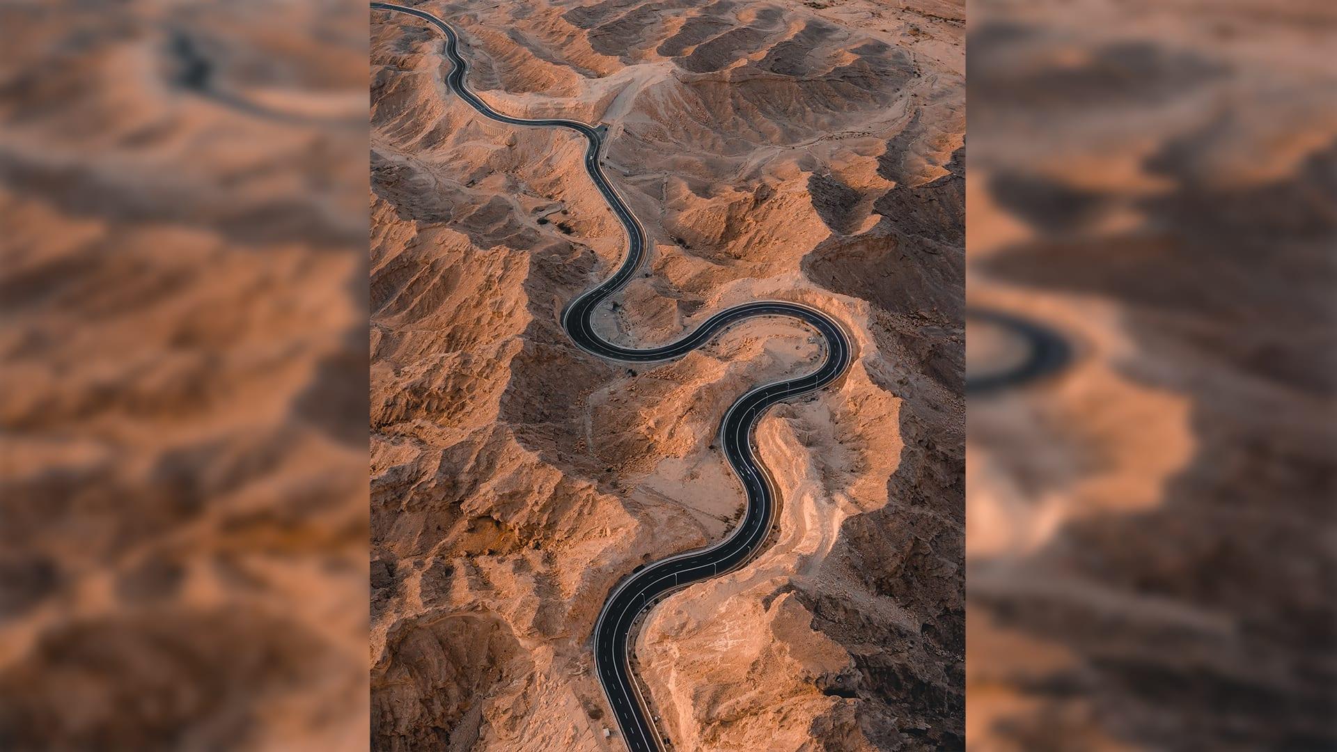 جبل حفيت في أبوظبي