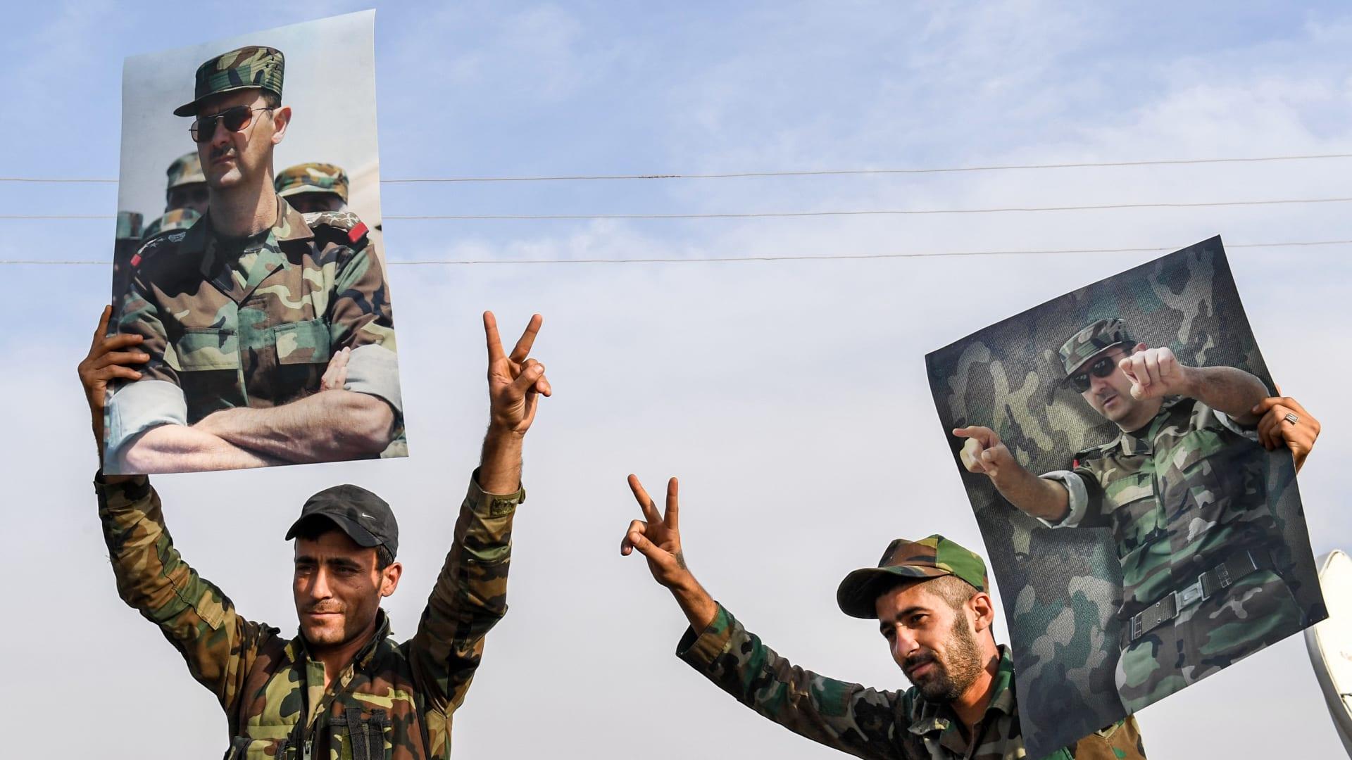 """الأسد لقواته: حققتم إنجازات كبيرة على امتداد سنوات """"الحرب الإجرامية"""""""