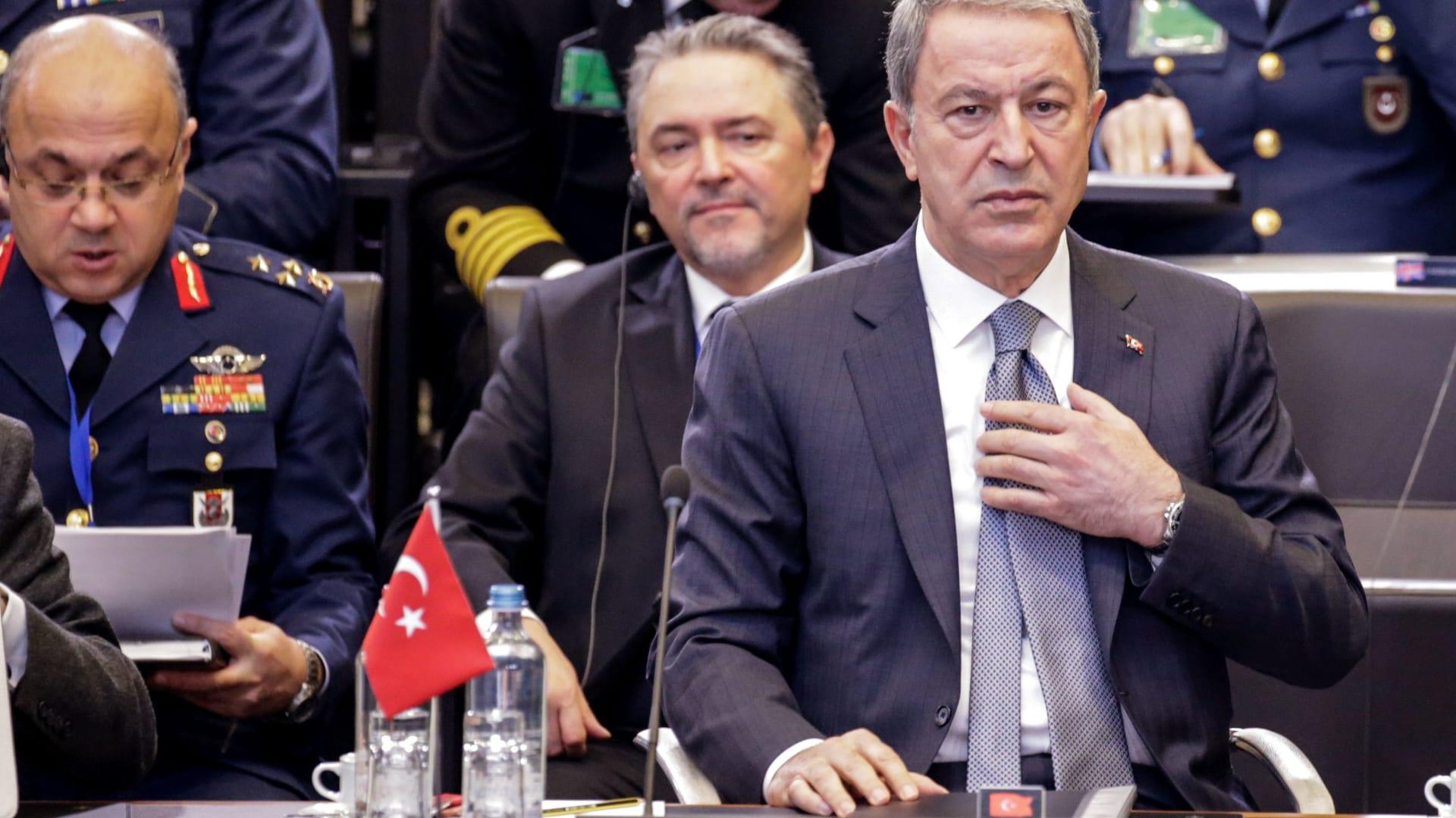 وزير الدفاع التركي: الاتفاقية البحرية مصر واليونان غير قانونية