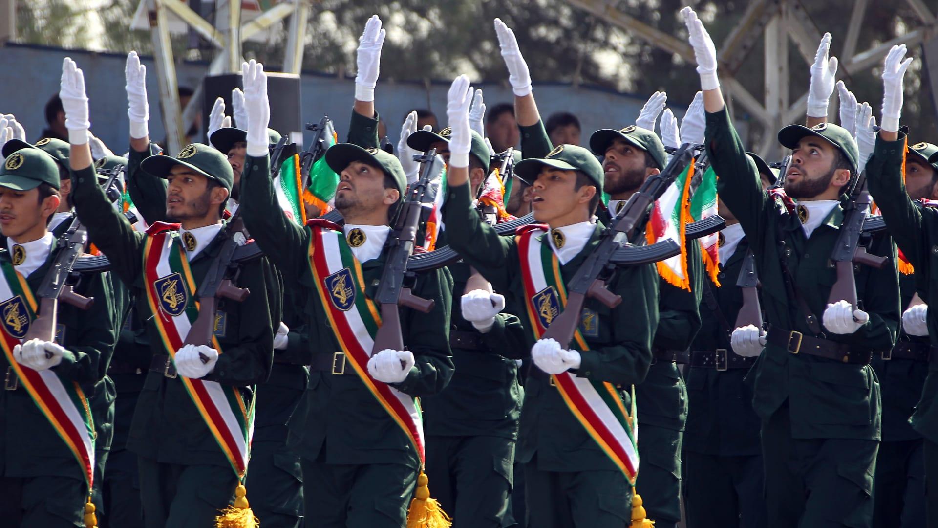 """""""خطأ استراتيجي"""".. الحرس الثوري الإيراني يهاجم اتفاق الإمارات وإسرائيل"""