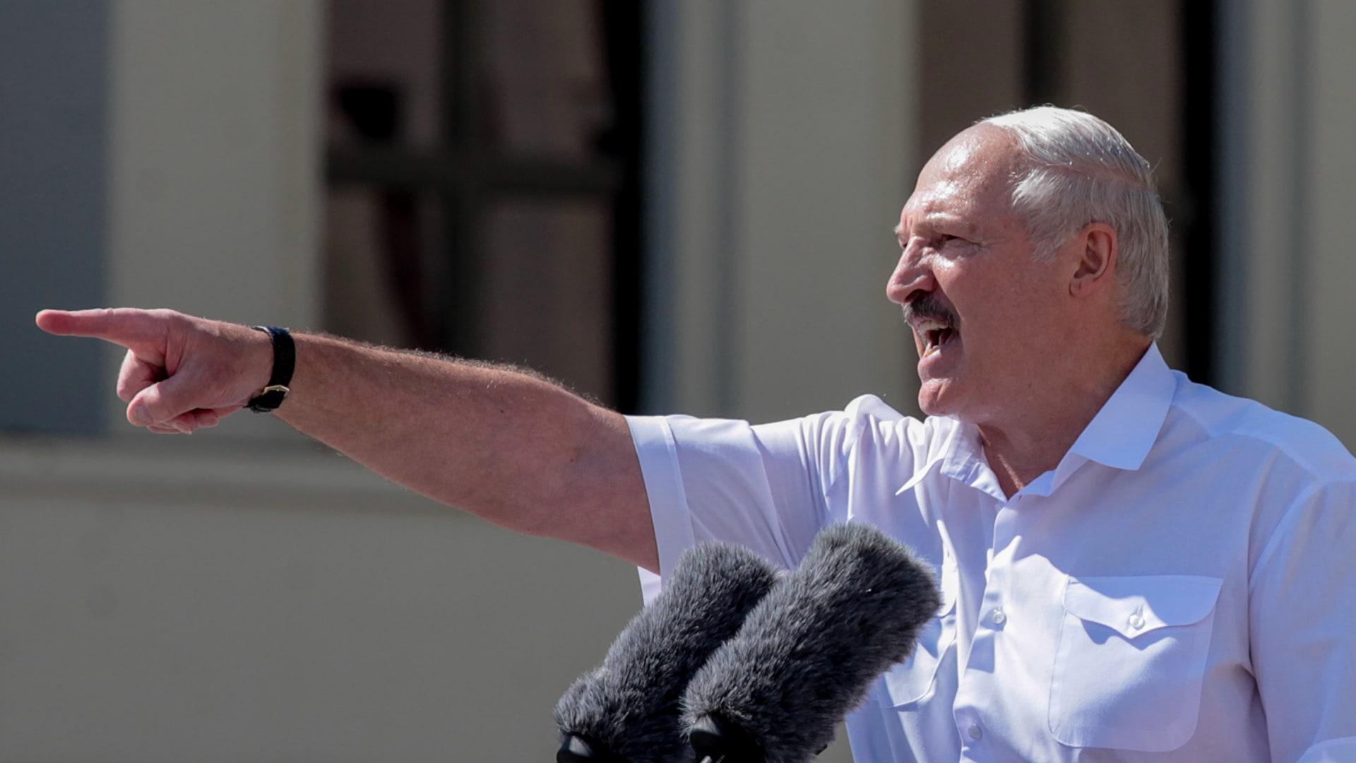 """رئيس بيلاروسيا: لن تكون هناك أي انتخابات جديدة """"حتى تقتلوني"""""""