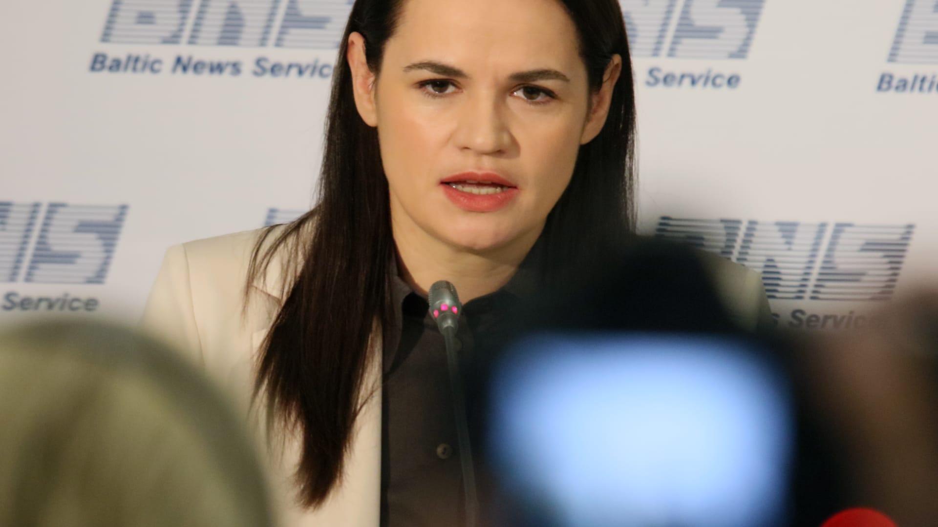 تيكانوفسكايا: لن أترشح مجددًا للانتخابات الرئاسية في بيلاروسيا