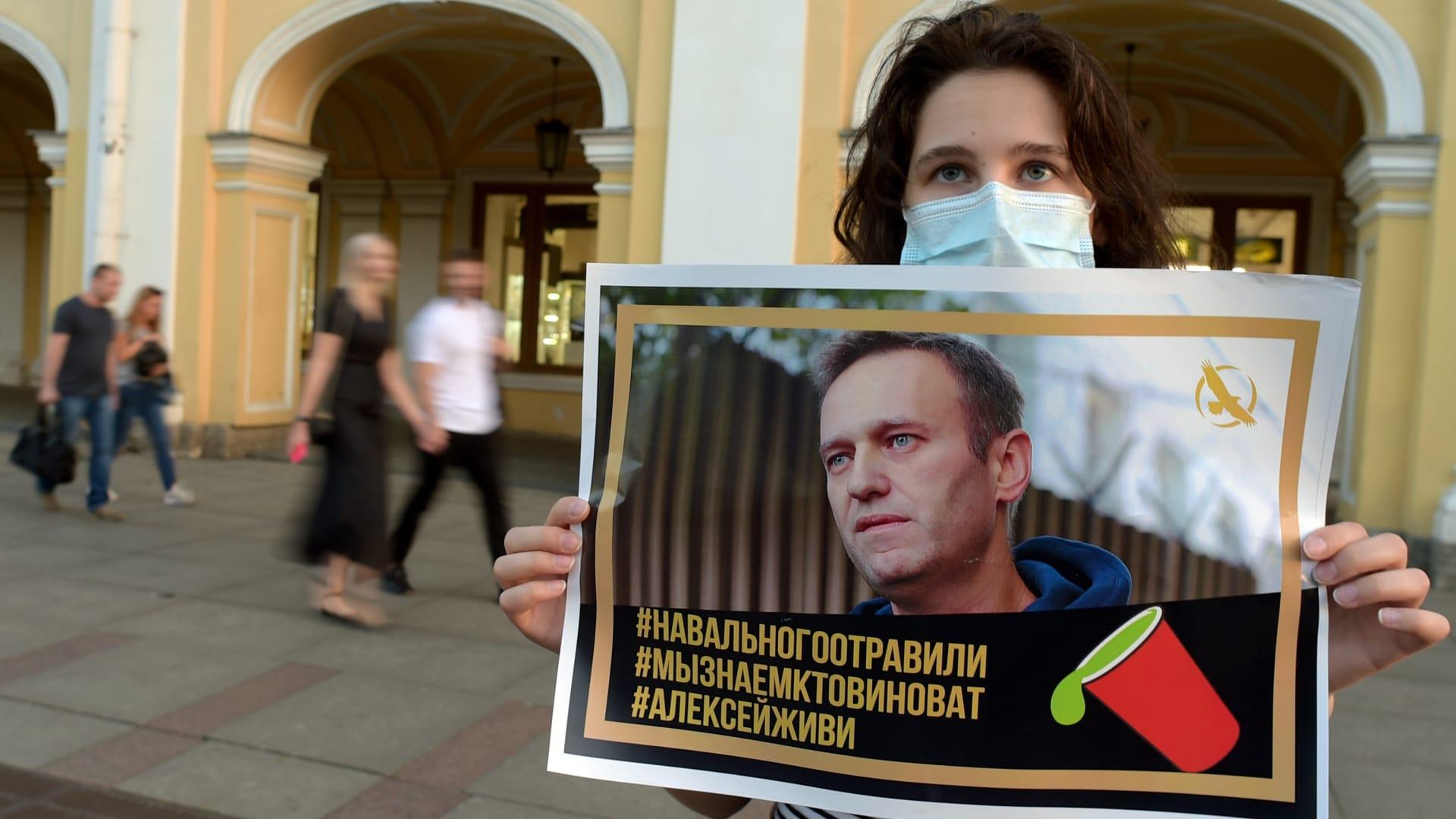 نقل زعيم المعارضة الروسية أليكسي نافالني للعلاج في برلين