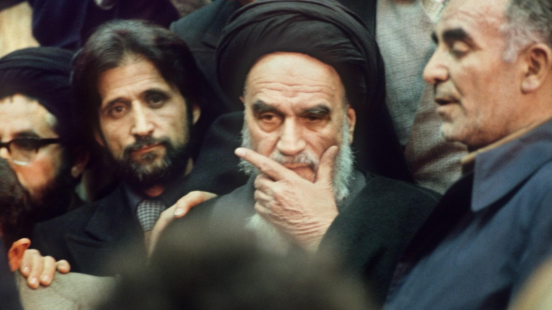 صورة أرشيفية لعلي الخميني (وسط)