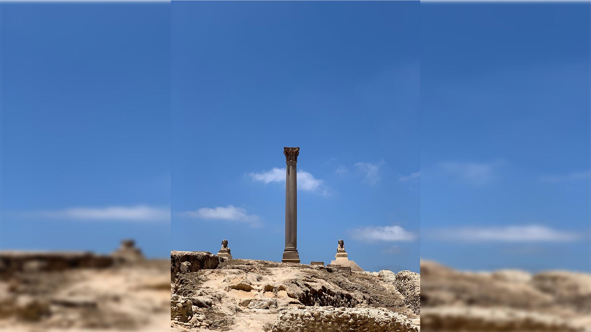 عمود السواري في الإسكندرية