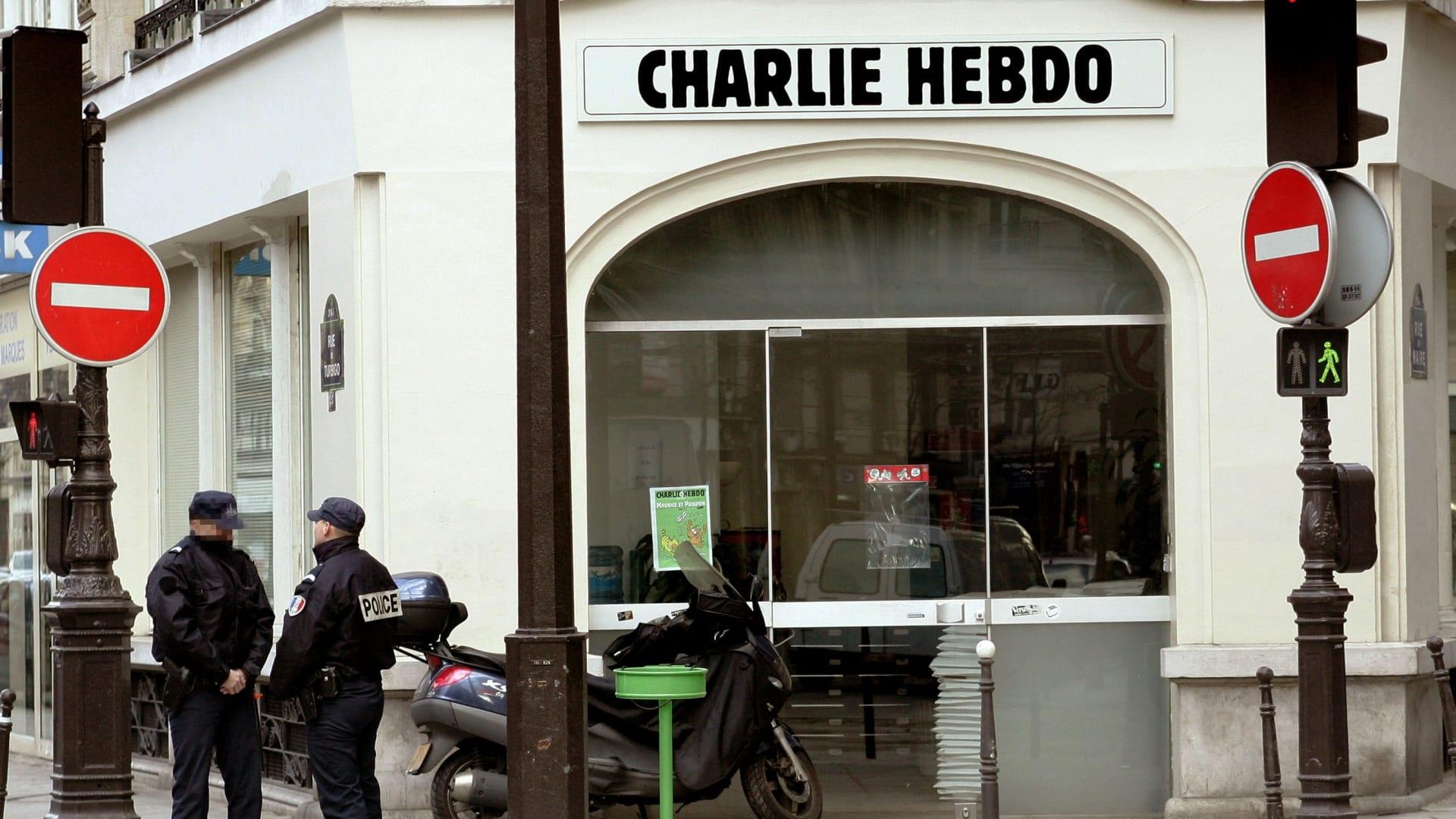 صورة أرشيفية لمقر مجلة شارلي ايبدو العام 2006