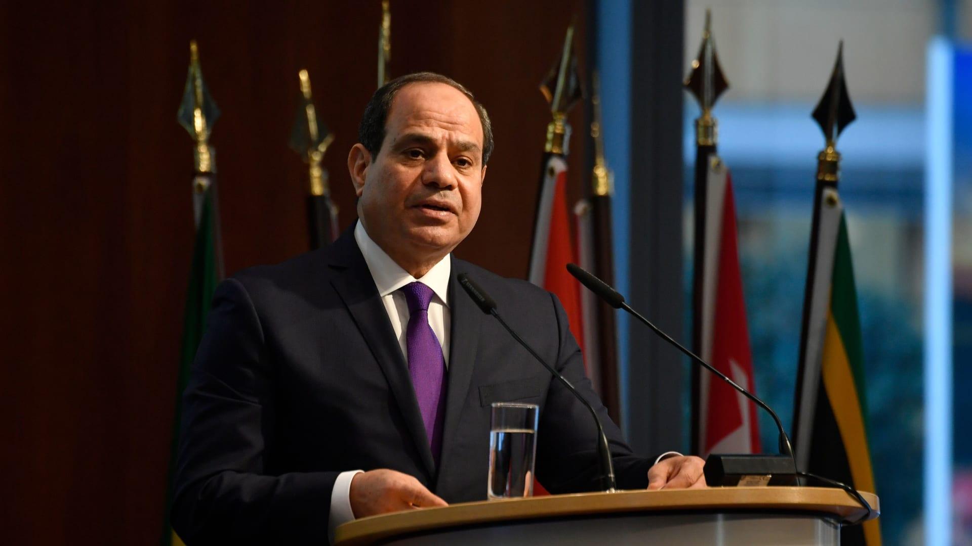 صورة أرشيفية للرئيس المصري، عبدالفتاح السيسي