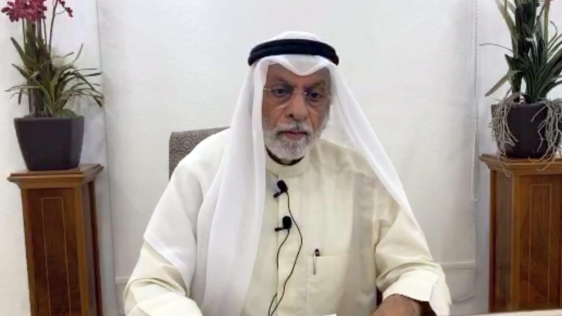 عبدالله النفيسي أستاذ العلوم السياسية والنائب السابق بالبرلمان الكويتي