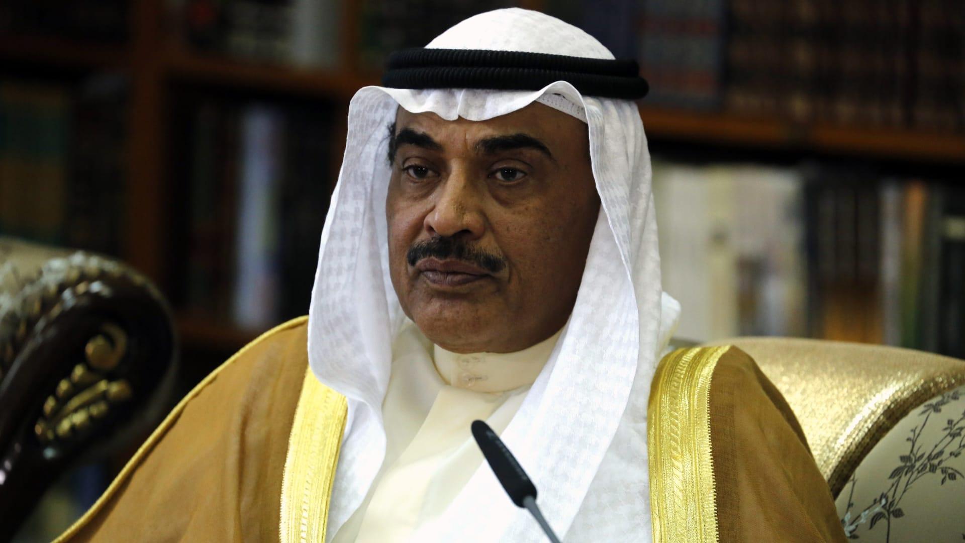 رئيس وزراء الكويت: ندعو إيران إلى التعاون لنزع فتيل التوتر بالمنطقة