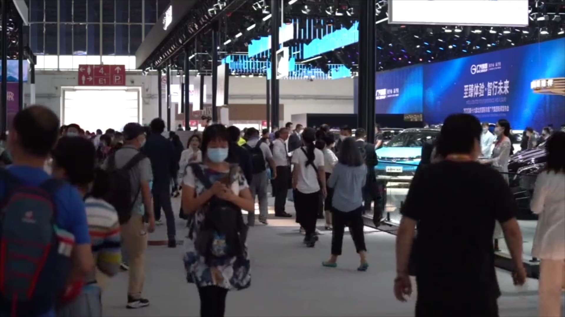 بعد إغلاق دام 5 أشهر.. افتتاح معرض بكين الدولي للسيارات