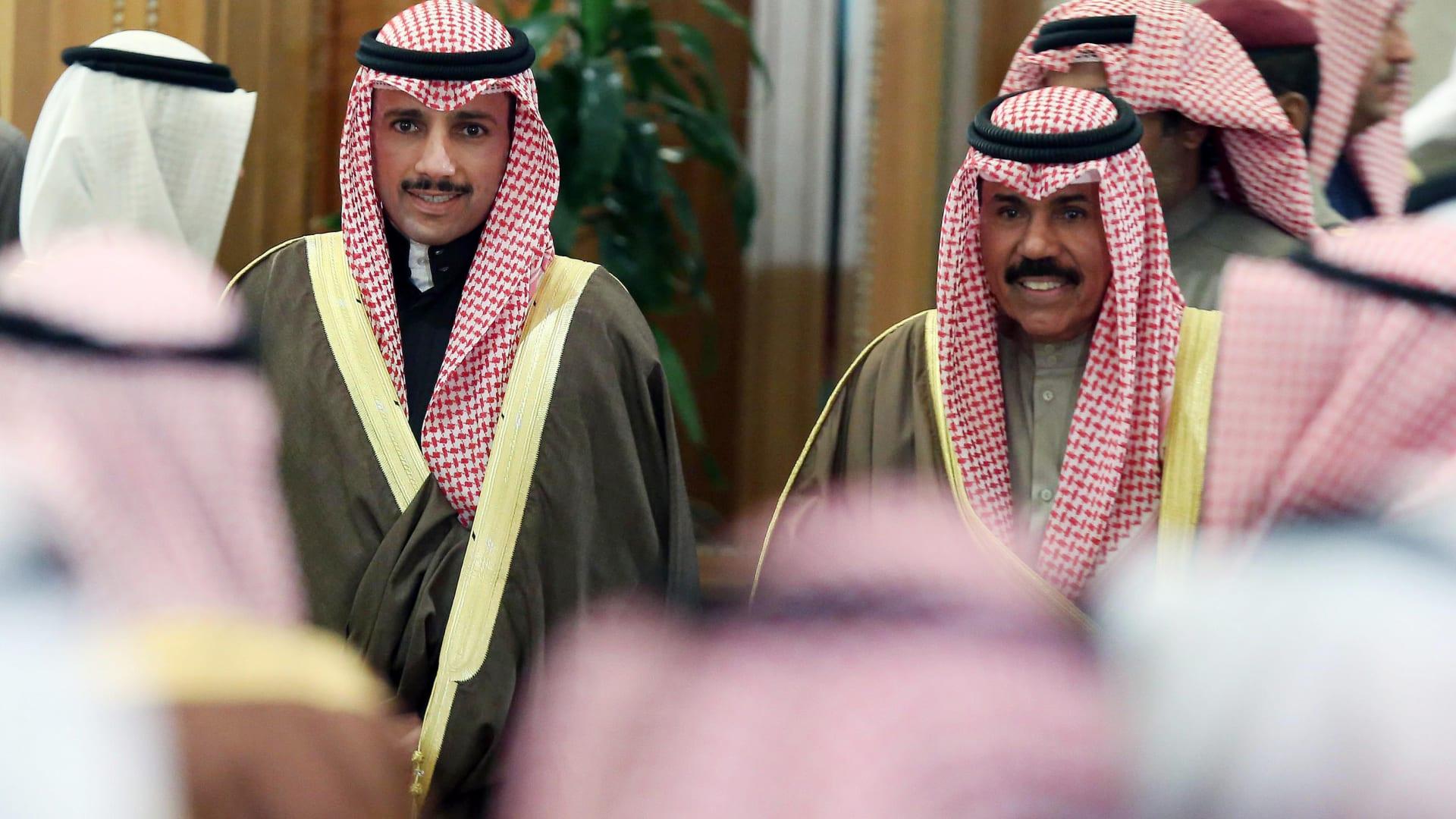 الغانم: أمير الكويت الشيخ نواف الأحمد الصباح يؤدي اليمين الدستورية الأربعاء
