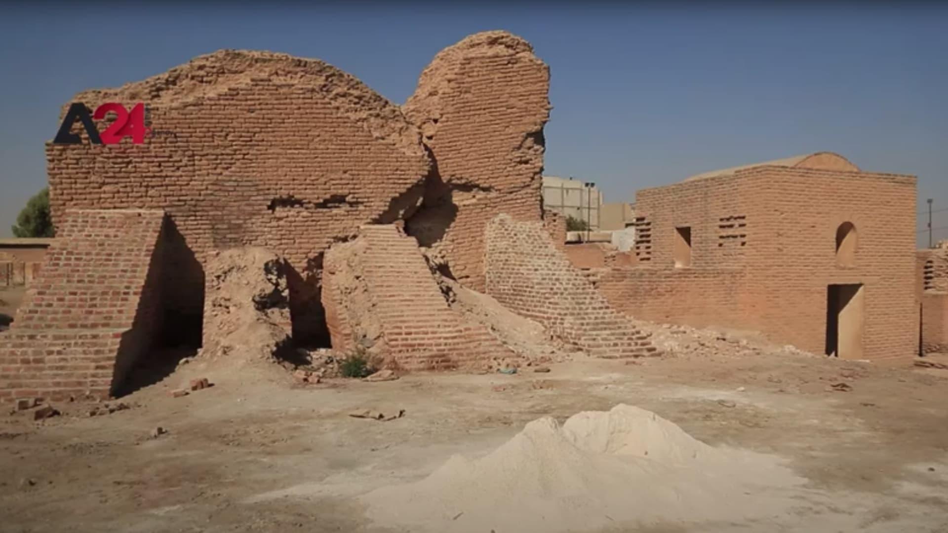 الرقة ترمم مواقعها الأثرية التي شوهتها حرب داعش في سوريا