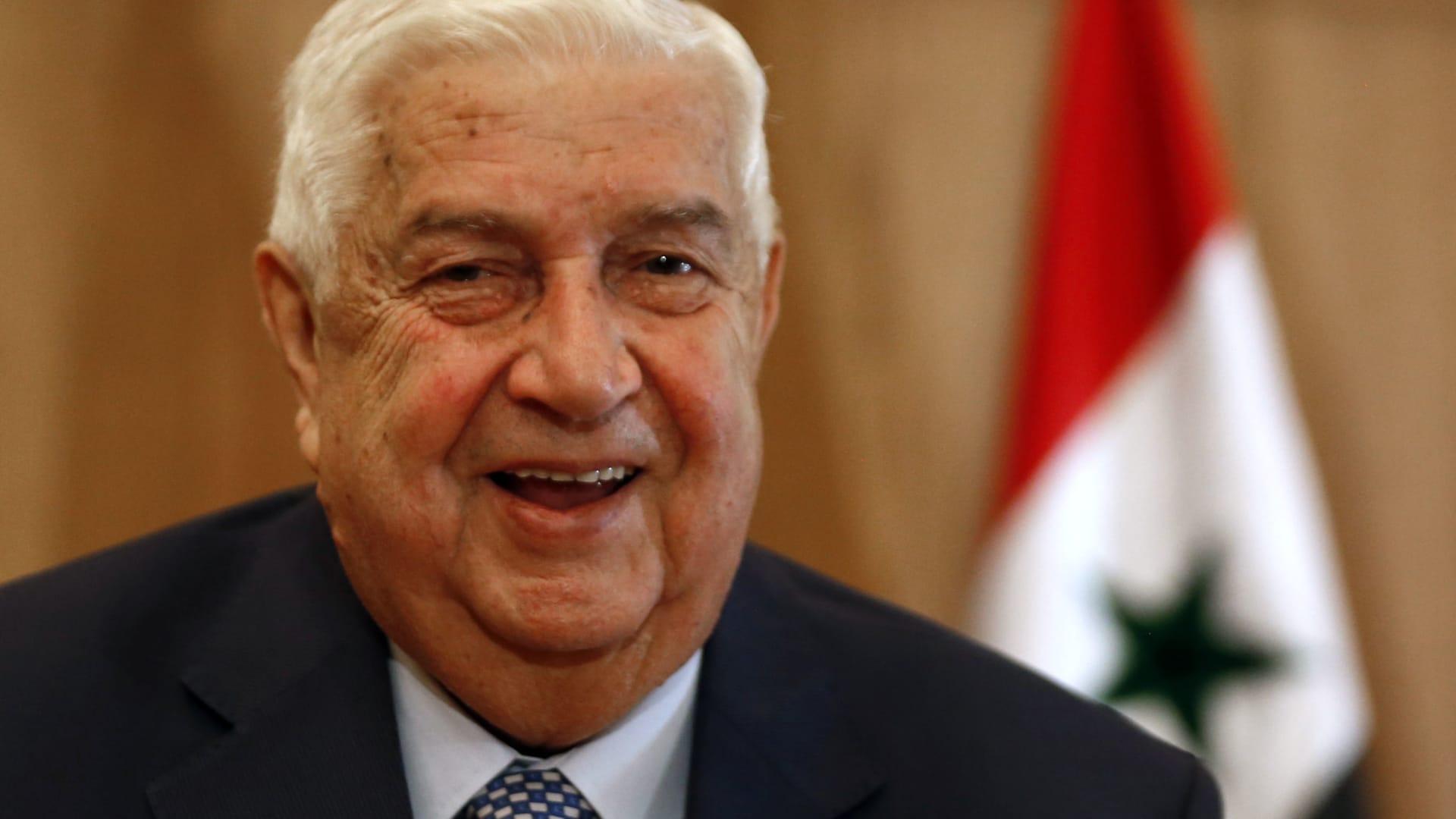 سفير سلطنة عُمان يسلم أوراق اعتماده لوزير الخارجية السوري
