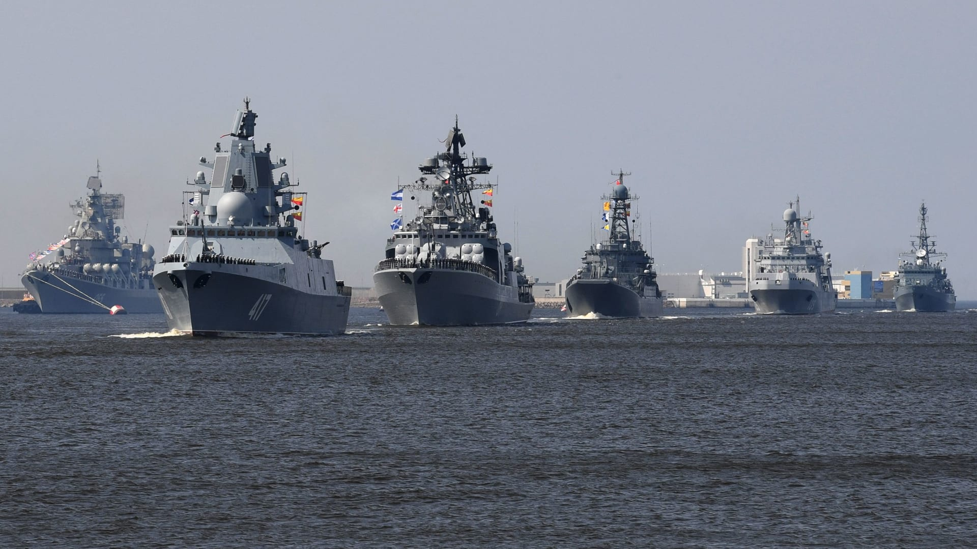 للمرة الأولى.. مناورات مصرية روسية في البحر الأسود