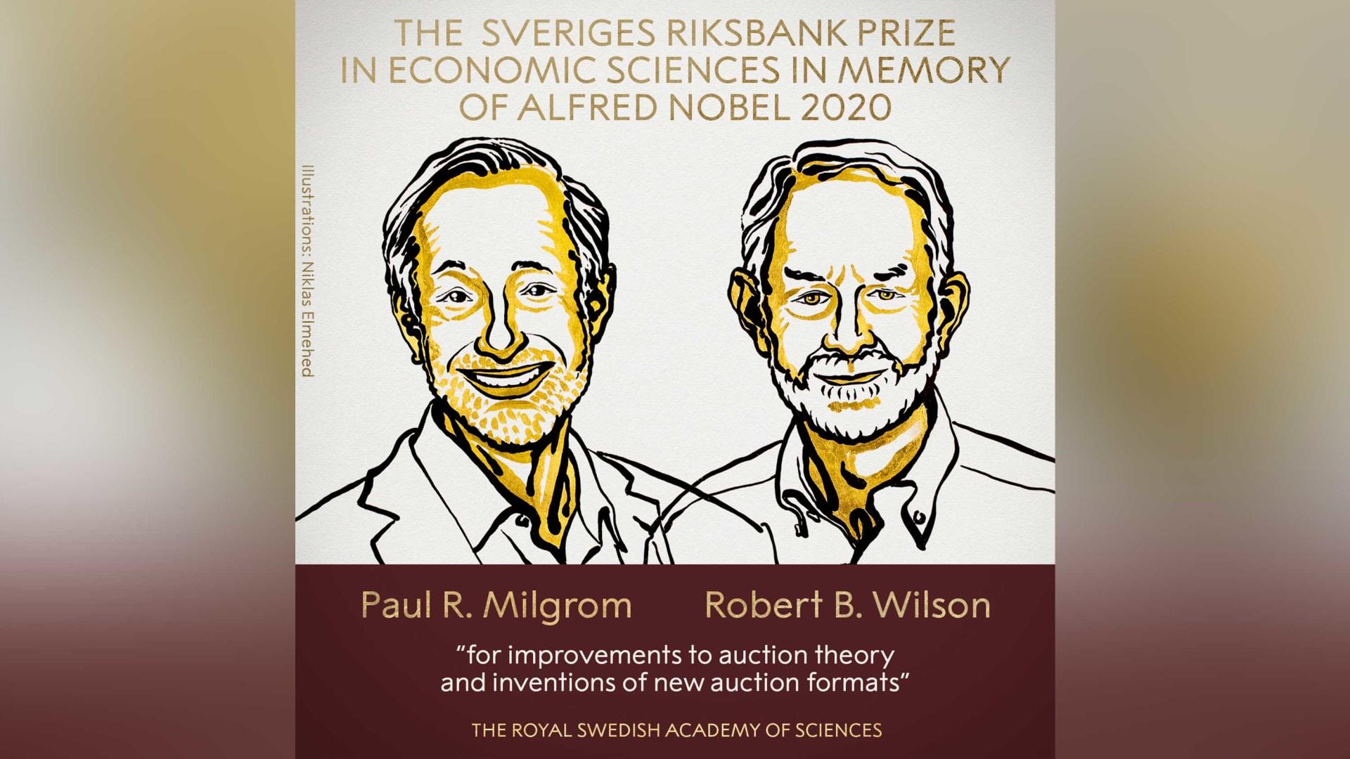"""جائزة نوبل للاقتصاد تُمنح لاقتصاديين اكتشفا نظريات """"تحسّن المزادات"""""""