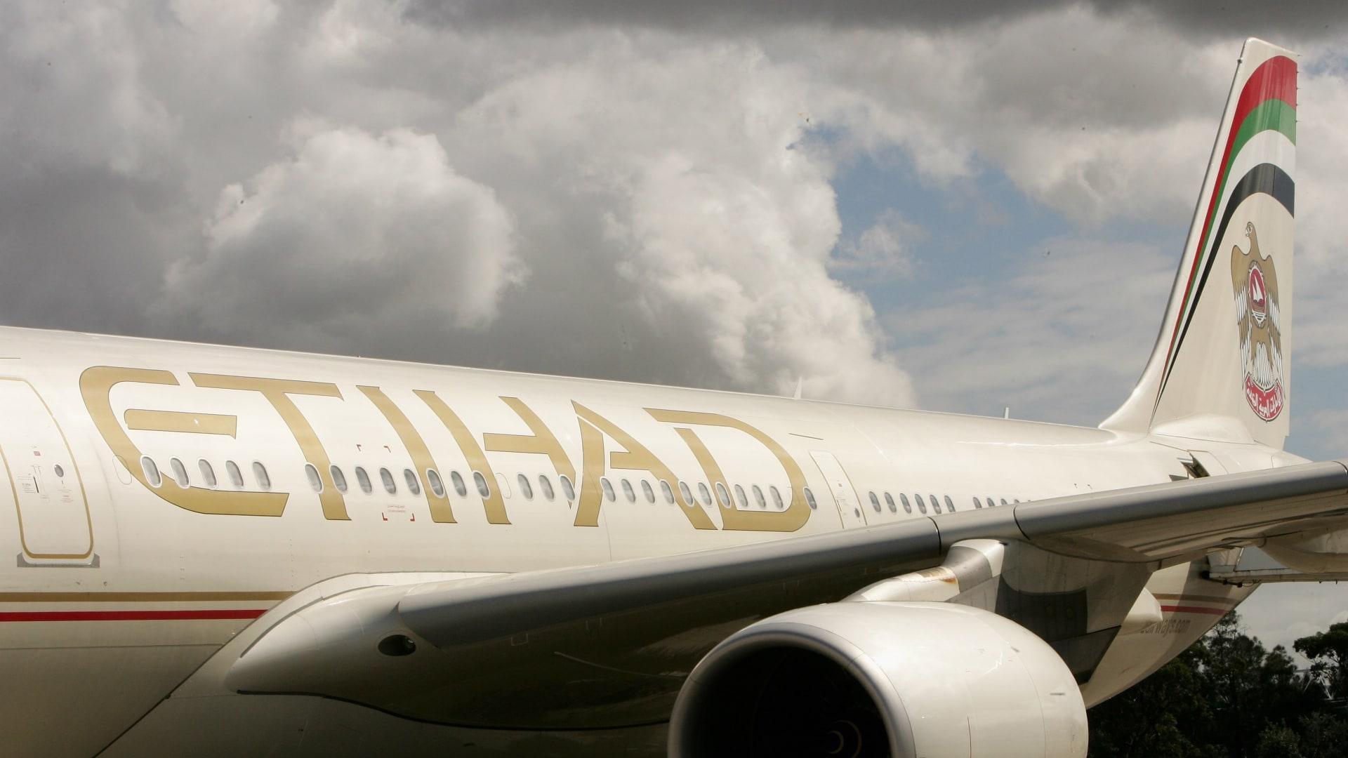 """شركة طيران الاتحاد الإماراتية تطلق موقعًا ناطقا بالعبرية.. وإسرائيل: """"مبروك"""""""