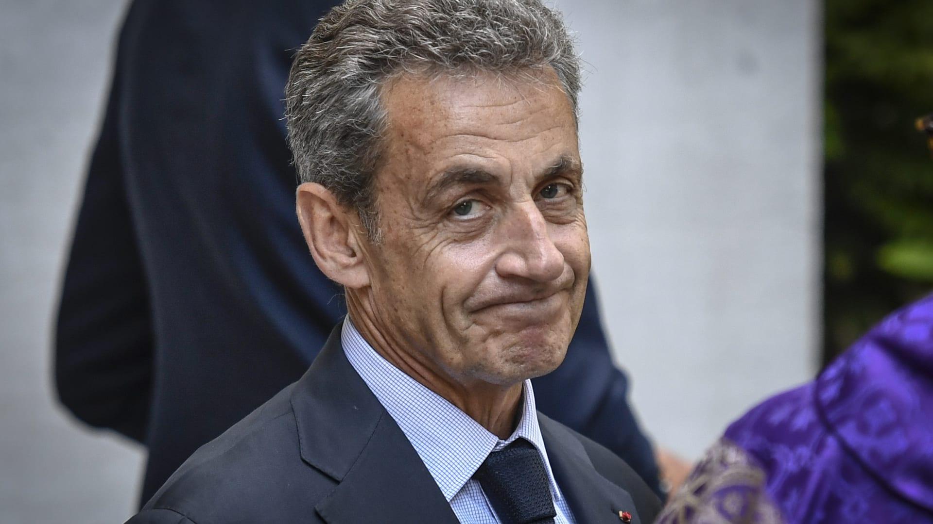 """الرئيس الفرنسي السابق نيكولا ساركوزي رهن التحقيق في """"تمويل ليبي غير قانوني"""""""