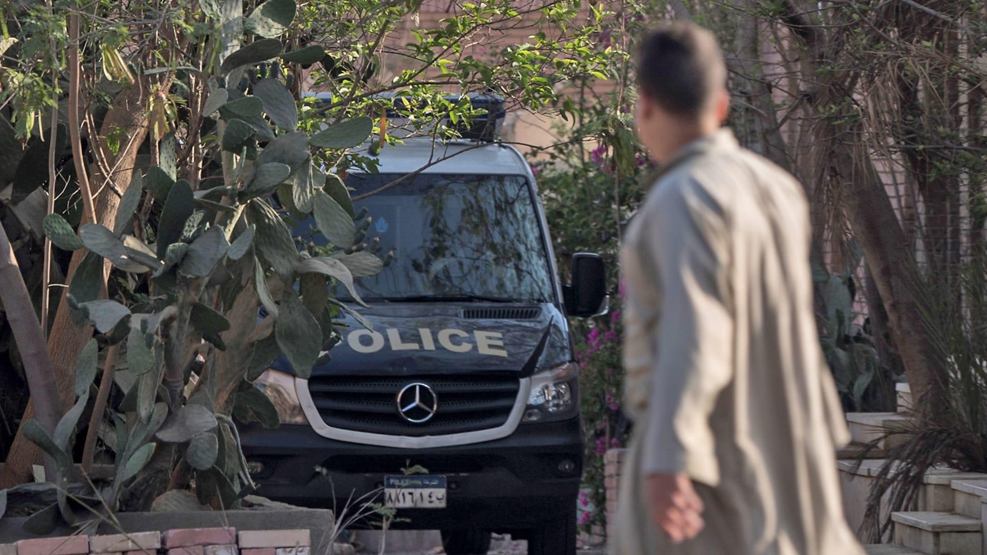 صورة أرشيفية لسيارة شرطة مصرية