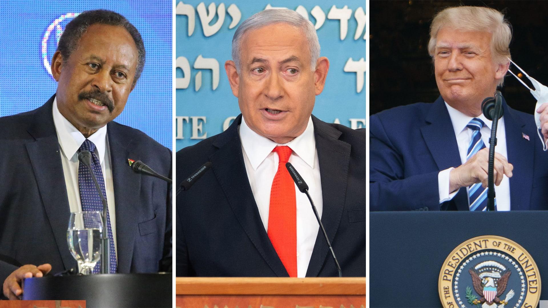 ترامب: السودان وإسرائيل اتفقا على تطبيع العلاقات