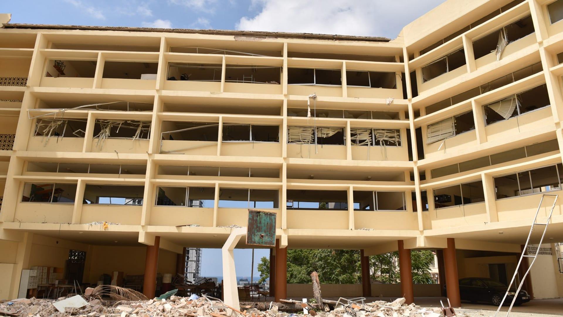 بالأرقام.. هذا حجم أضرار انفجار مرفأ بيروت على المرافق التعليمية