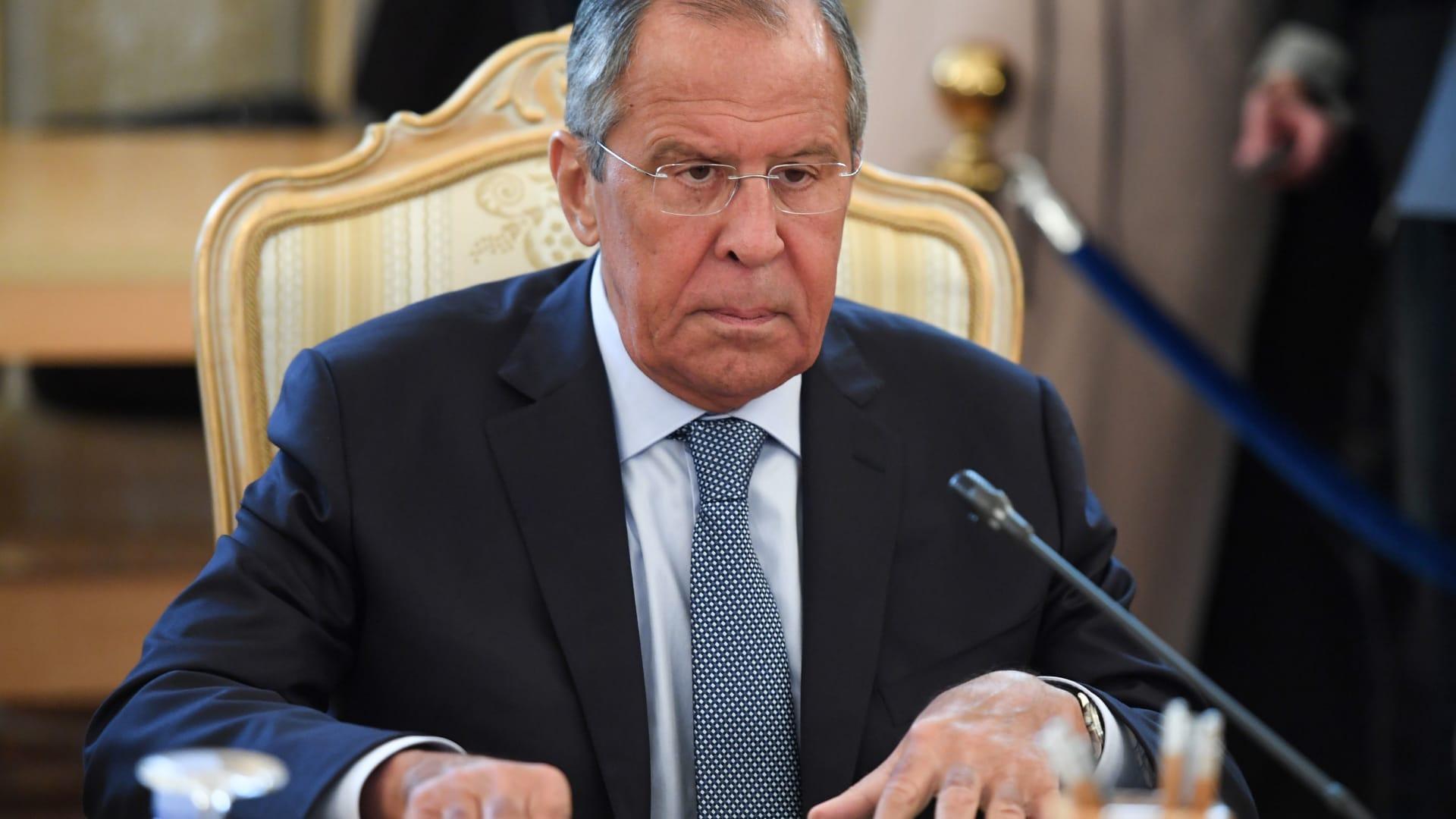 وزير الخارجية الروسي سيرغي لافروف يدخل العزل الذاتي.. وموسكو تكشف وضعه الصحي