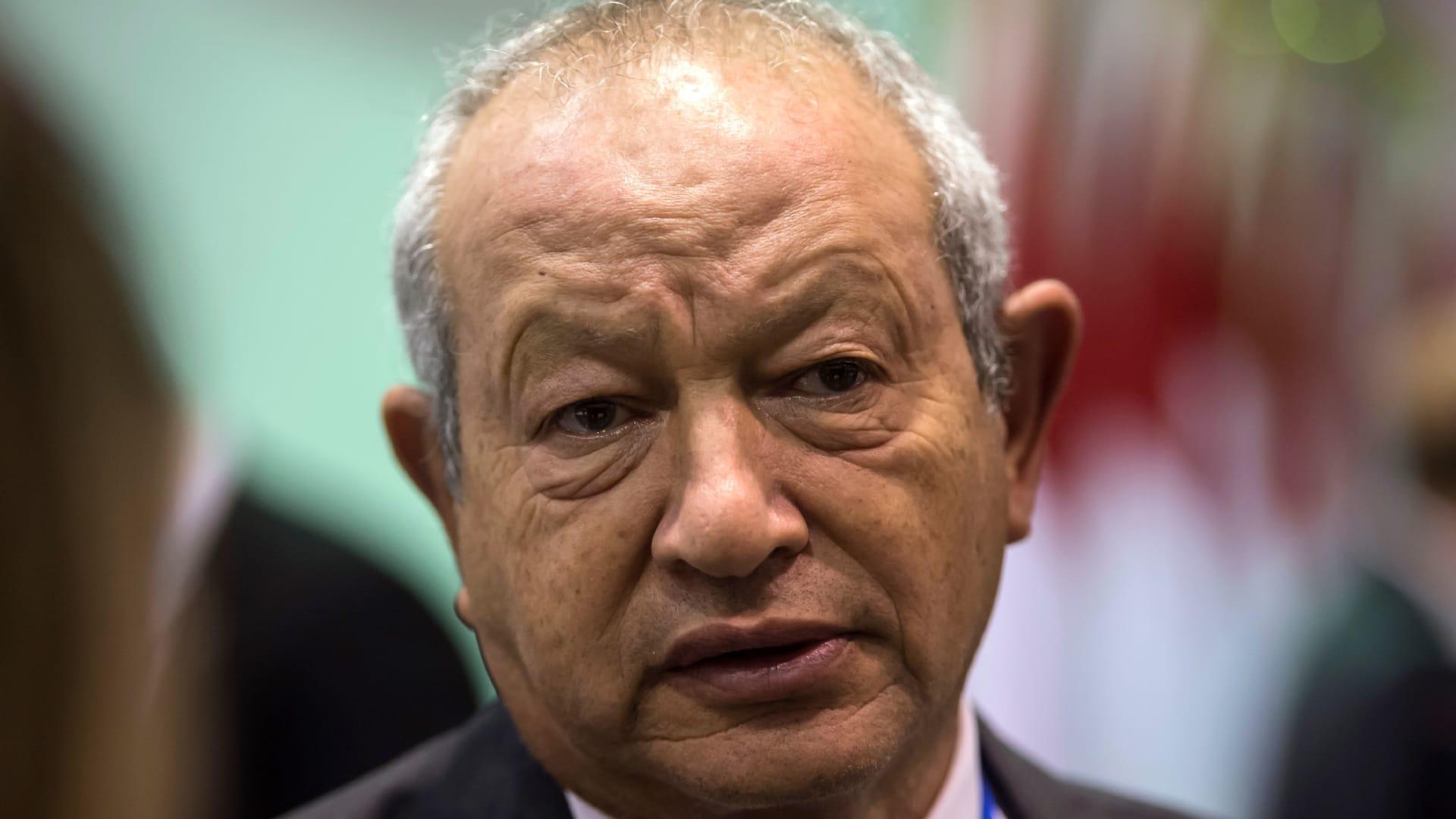 رجل الأعمال المصري، نجيب ساويرس