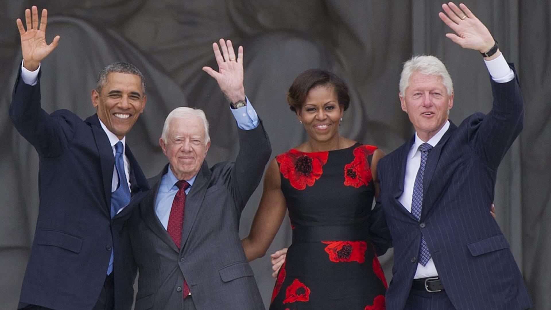 هكذا علق أوباما وكلينتون وكارتر على فوز بايدن بانتخابات الرئاسة الأمريكية