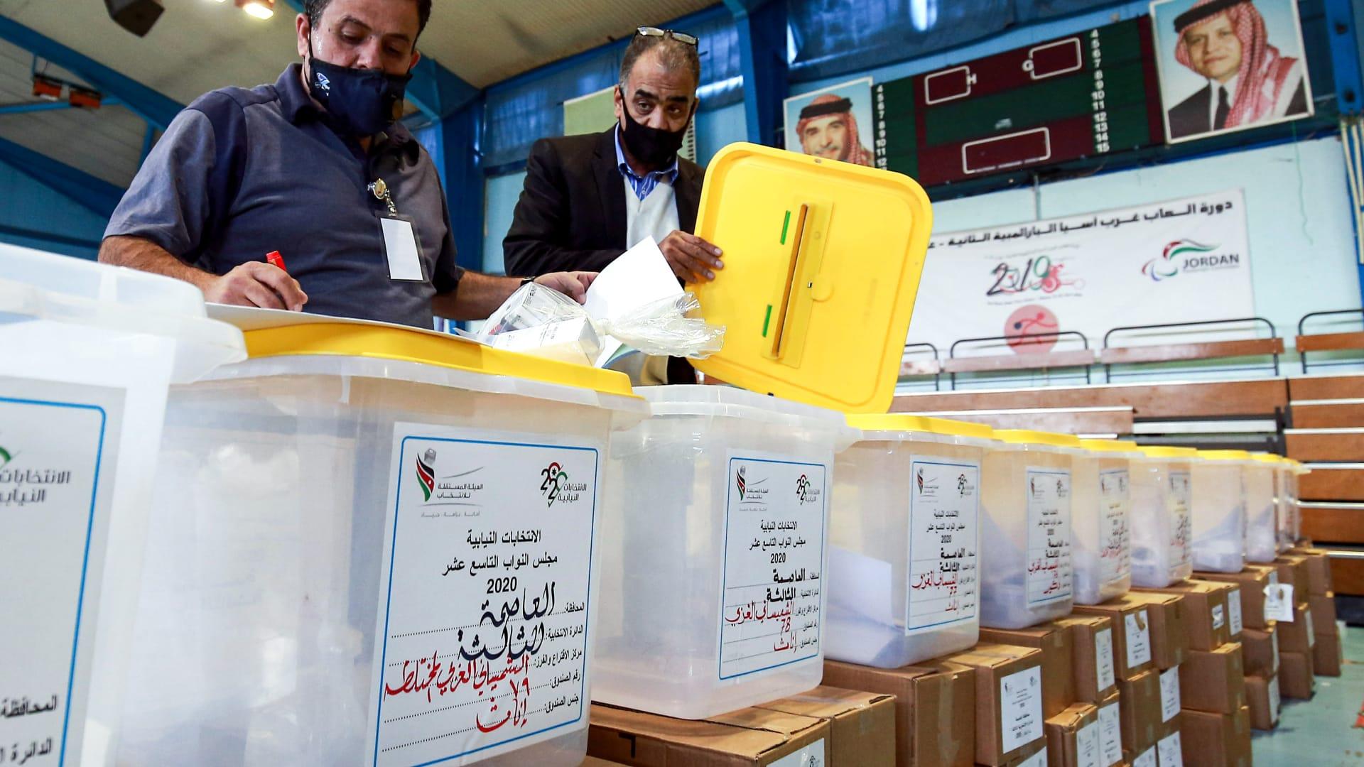 الأردنيون يحسمون خياراتهم في الاقتراع  للبرلمان الـ19