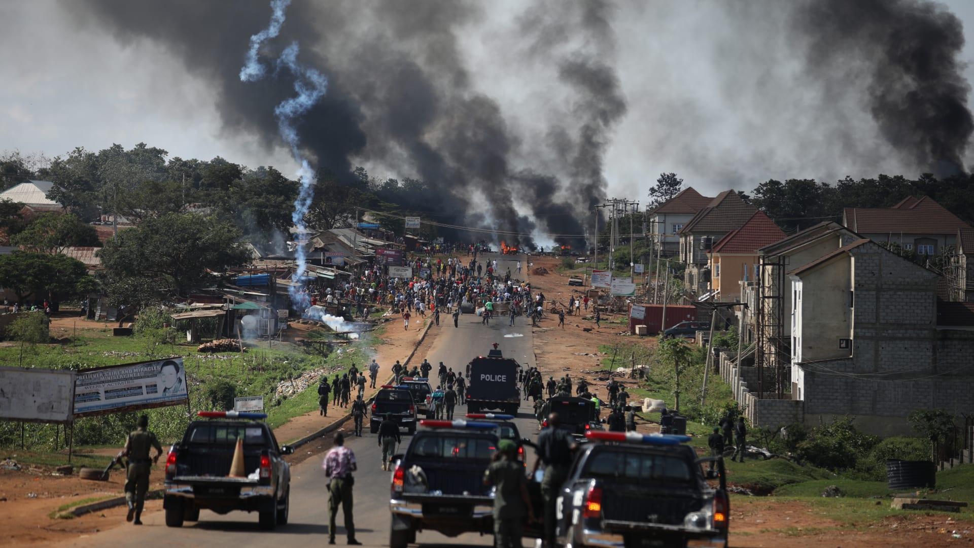 تحقيق CNN يلقي الضوء على ما حصل بمظاهرات نيجيريا