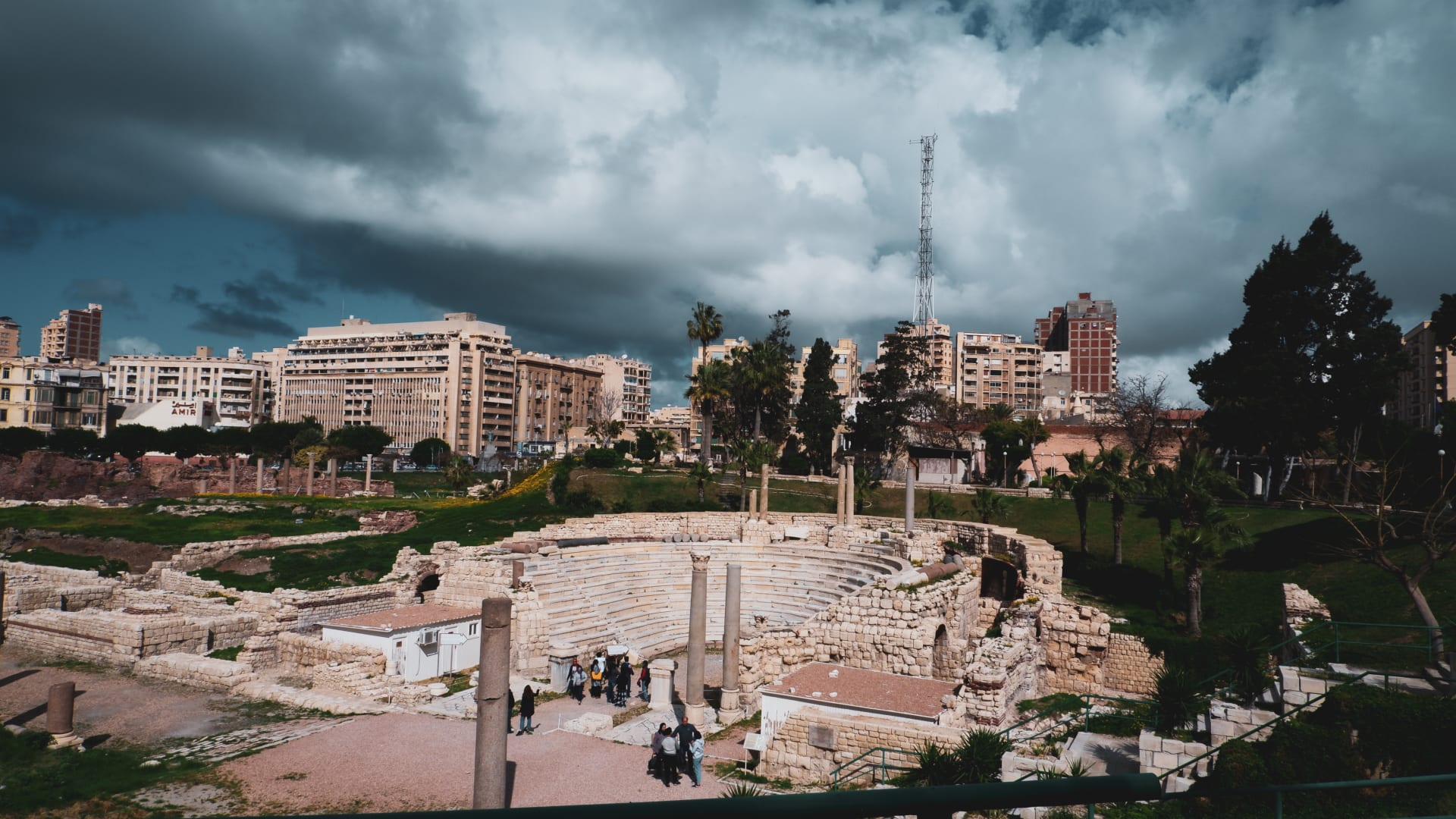 المسرح الروماني بالإسكندرية