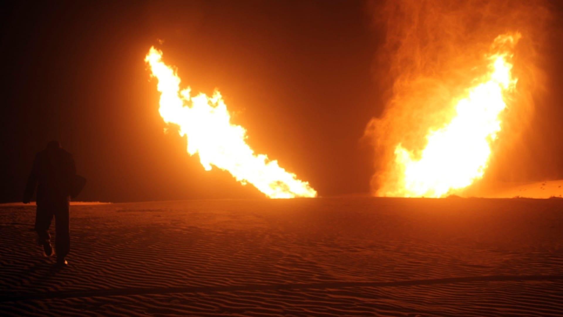 """انفجار """"محدود"""" في خط غاز عابر بين مصر وإسرائيل.. وداعش يتبنى الهجوم"""