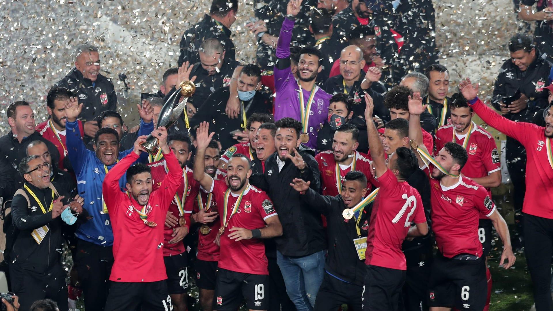 الأهلي يحصد كأس مصر بعد فوزه على الجيش بركلات الجزاء الترجيحية