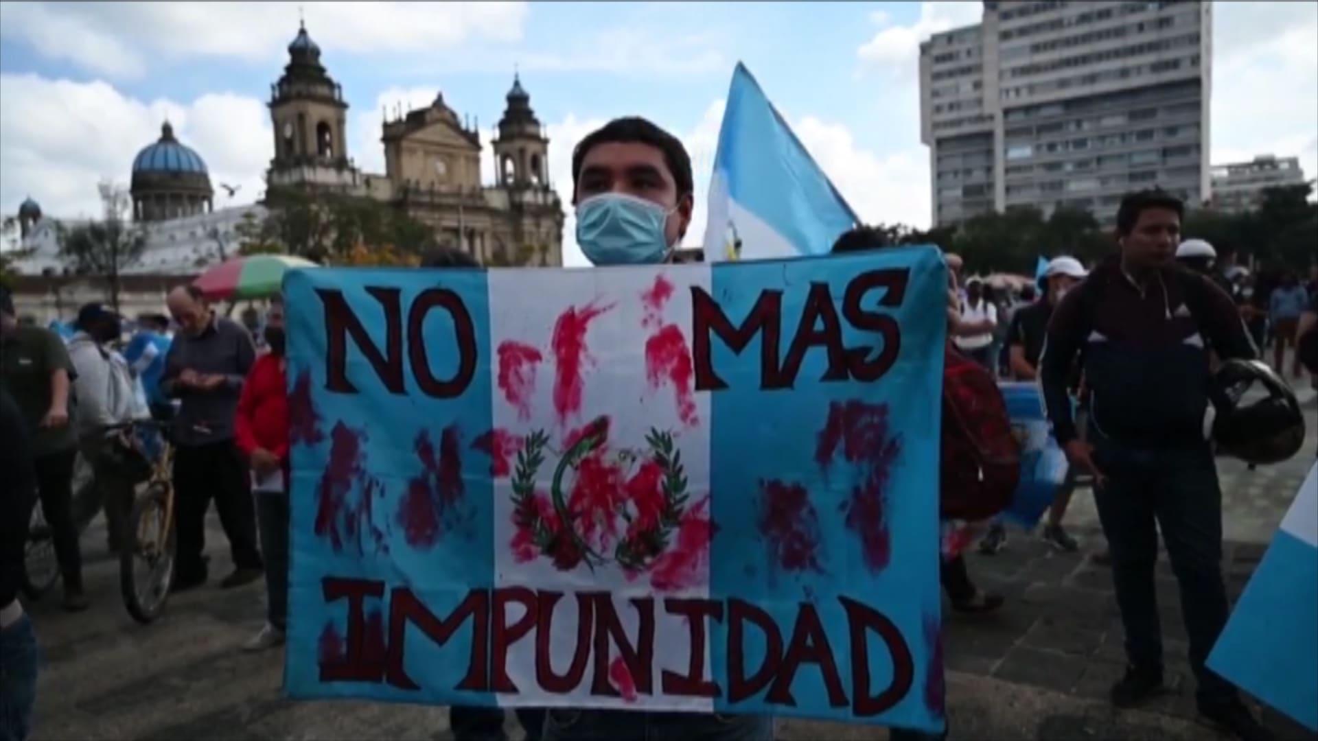 احتجاجات في غواتيمالا.. والمطالبة باستقالة الرئيس