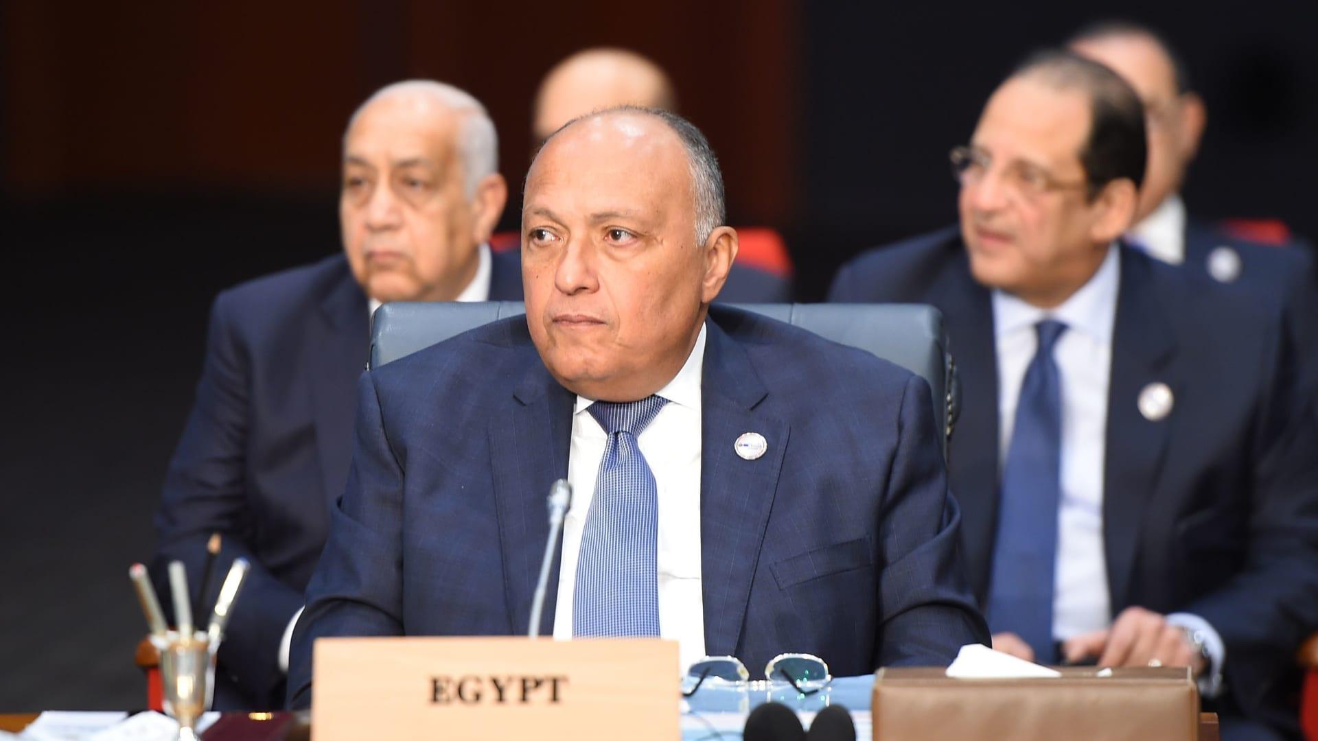 """وزير الخارجية المصري: """"تفاهمات واتصالات تمت"""" بشأن المصالحة مع قطر"""