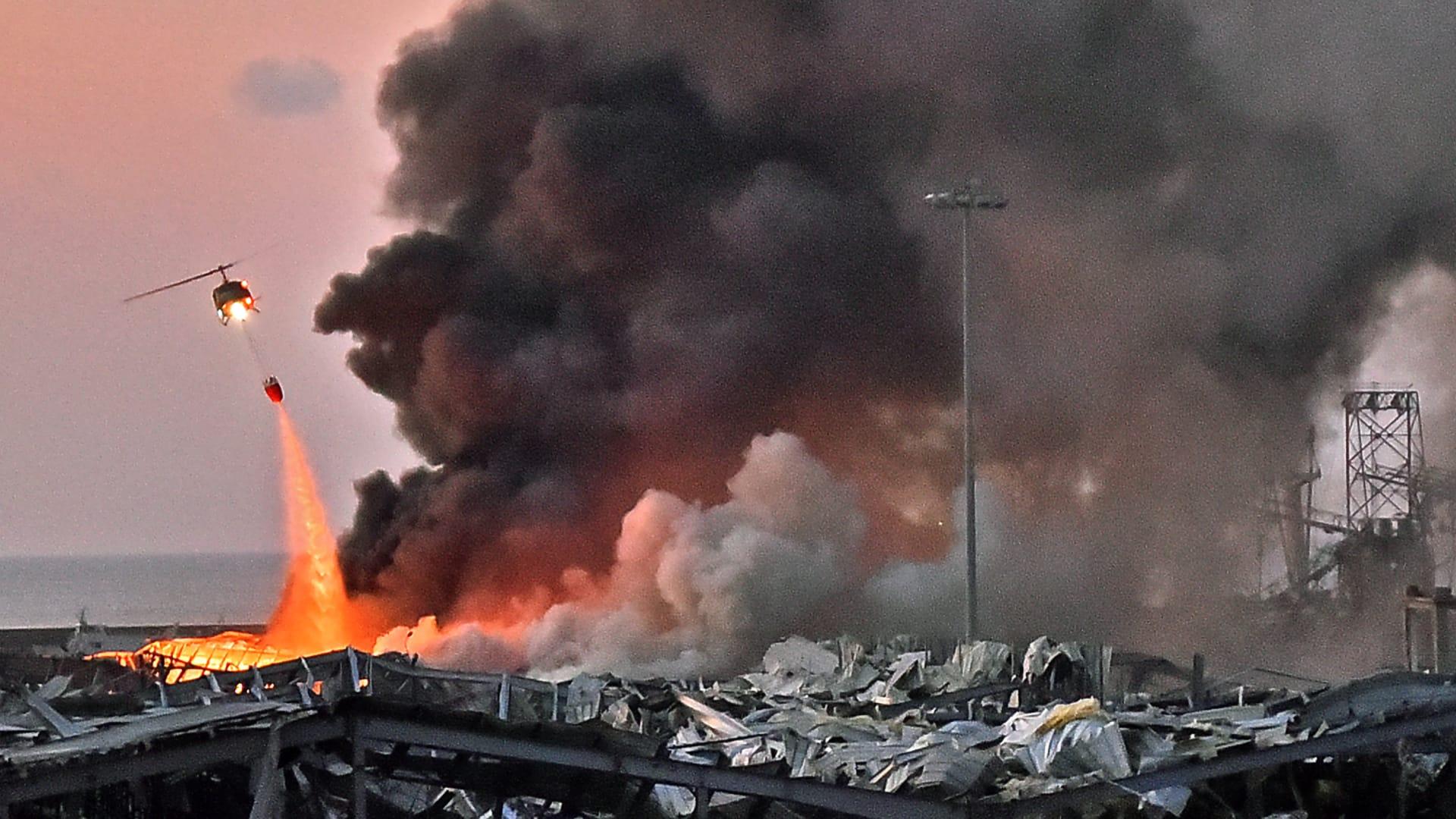 لبنان.. اتهام رئيس حكومة تصريف الأعمال و3 وزراء سابقين في قضية انفجار مرفأ بيروت