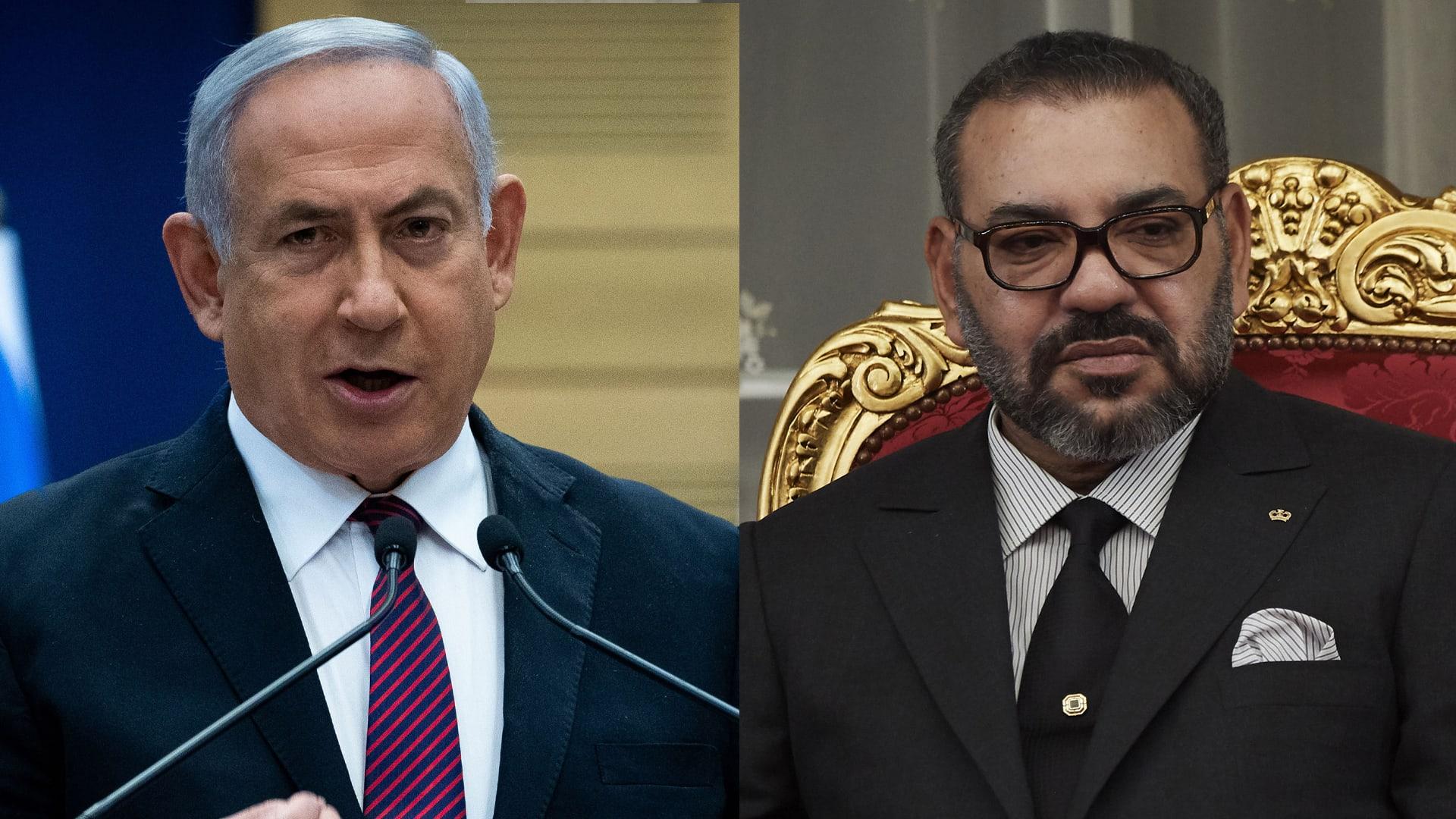 أول تعليق لنتنياهو والملك محمد السادس على إعلان ترامب التطبيع بين المغرب وإسرائيل