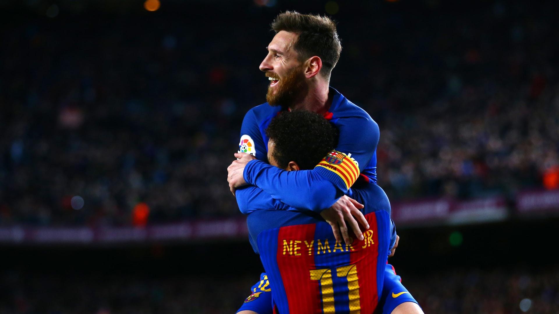 بعد وقوع برشلونة وباريس سان جيرمان معا.. نيمار يوجه رسالة لميسي