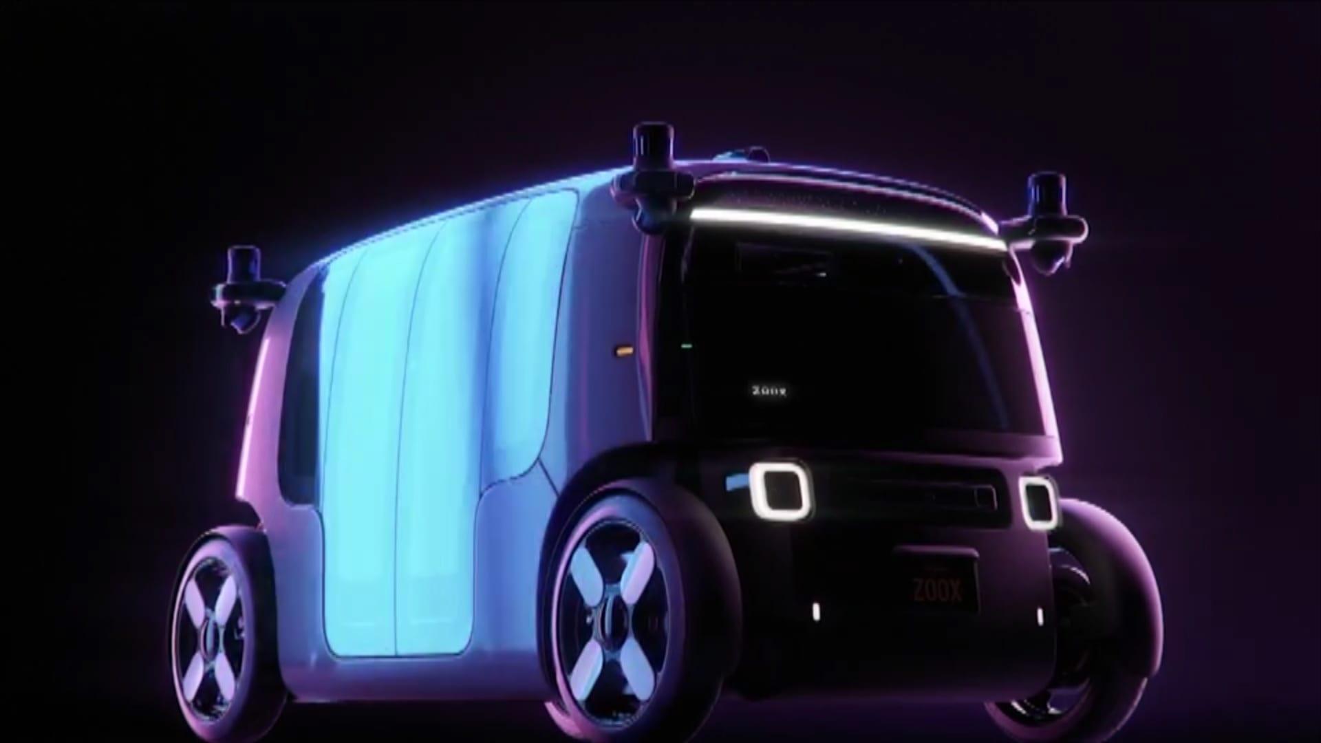"""سيارة أجرة """"ثنائية الاتجاه"""" من أمازون.. هذه """"روبو تاكسي"""" للطرق المزدحمة"""
