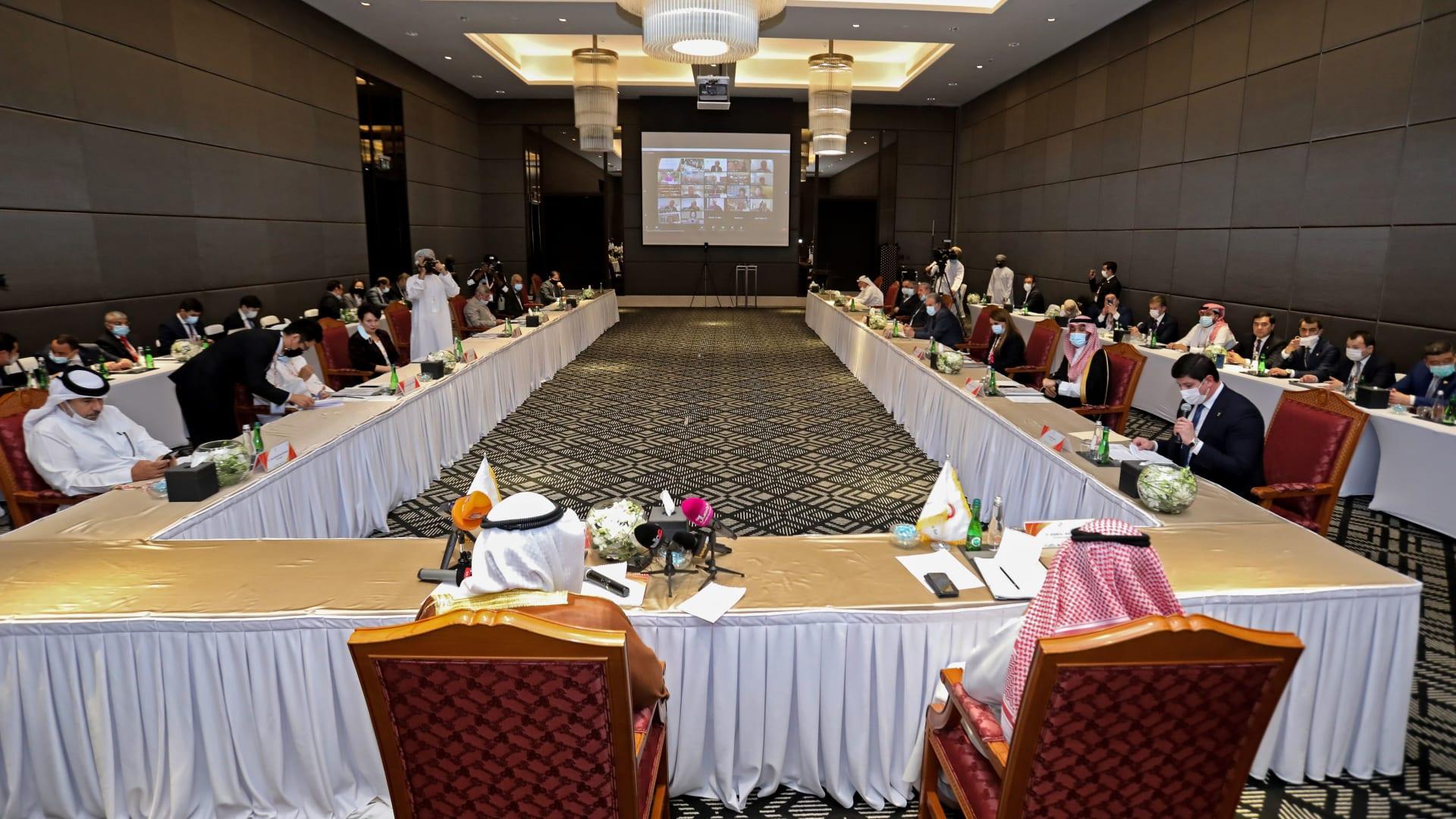 صورة من اجتماع ممثلي الدول في مسابقة الألعاب الآسيوية في عُمان