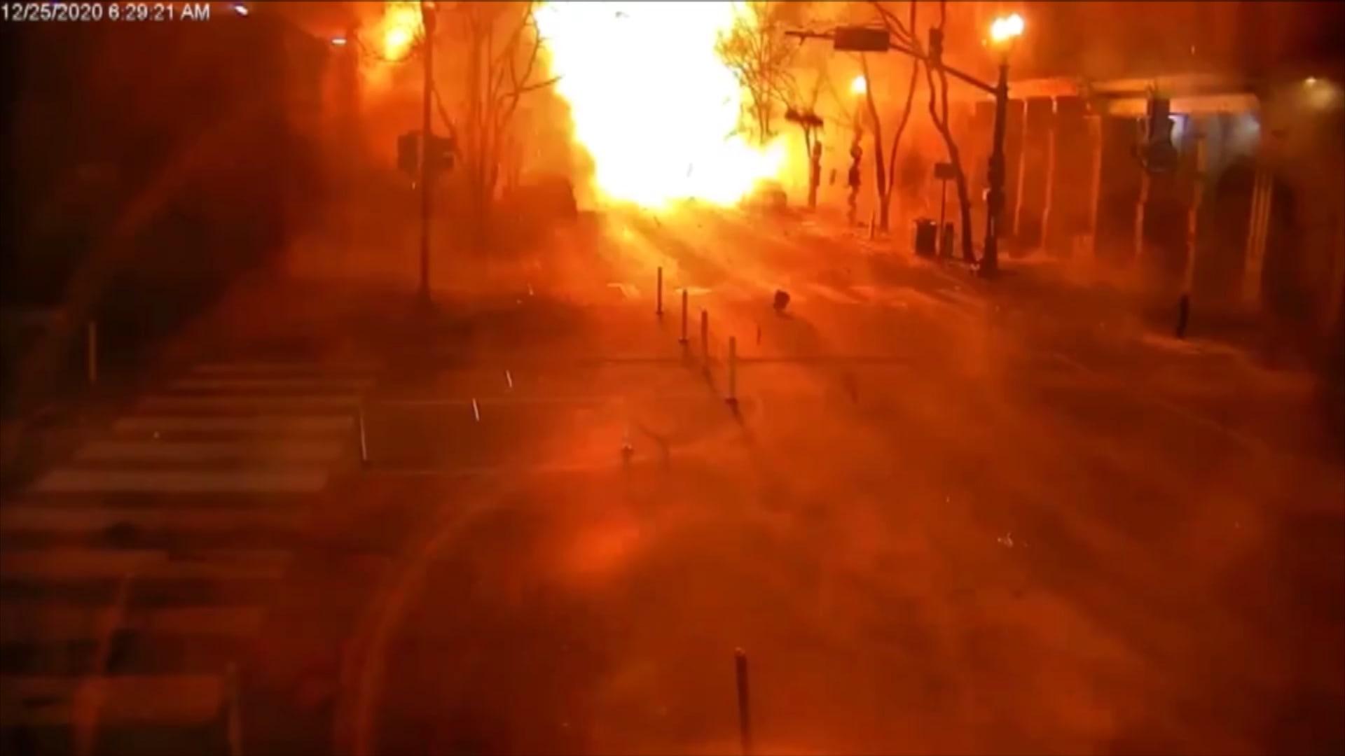 تحديد هوية منفذ انفجار ناشفيل.. وفيديو جديد من لحظة الانفجار