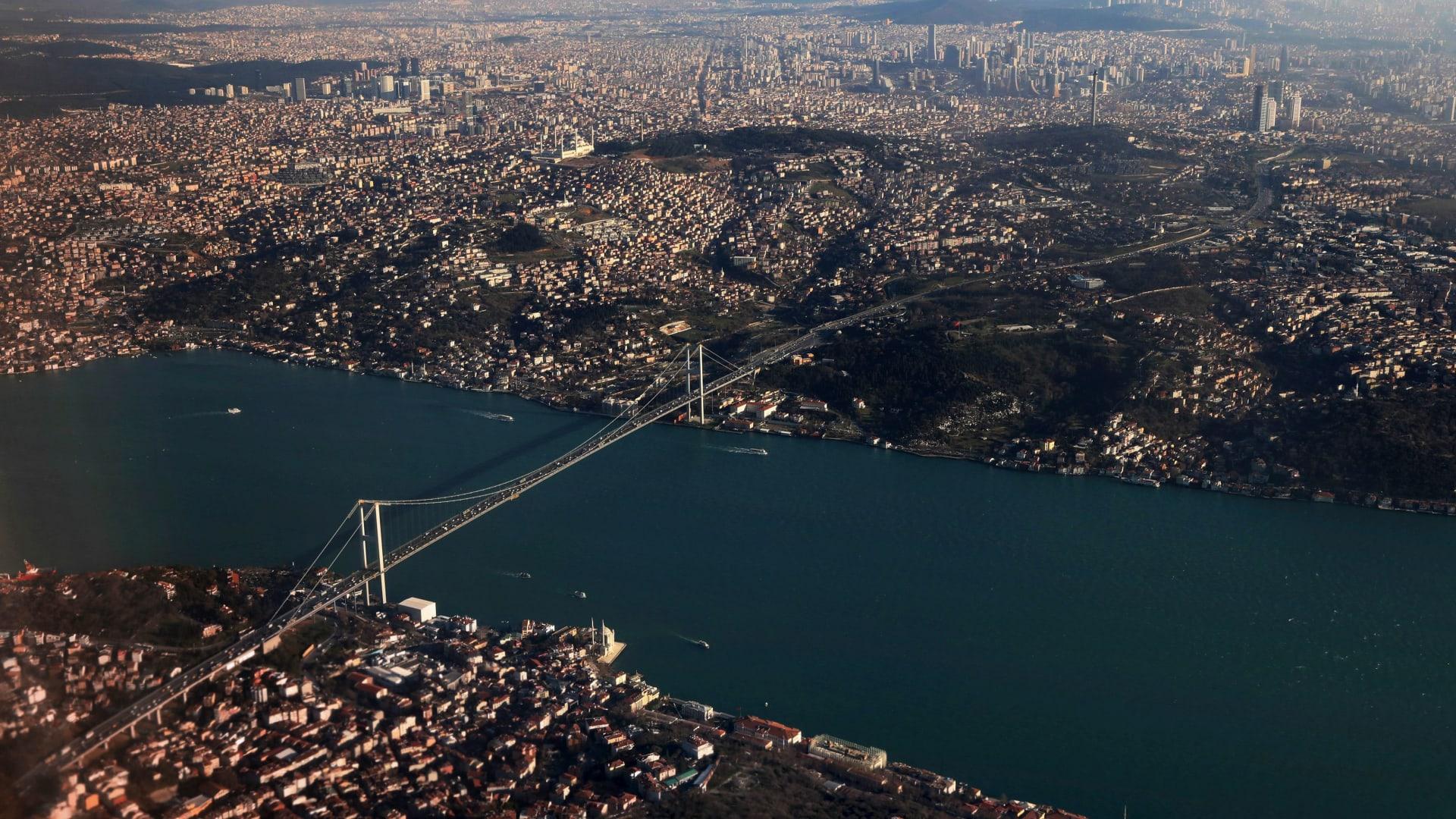 صورة أرشيفية عامة من مدينة اسطنبول التركية