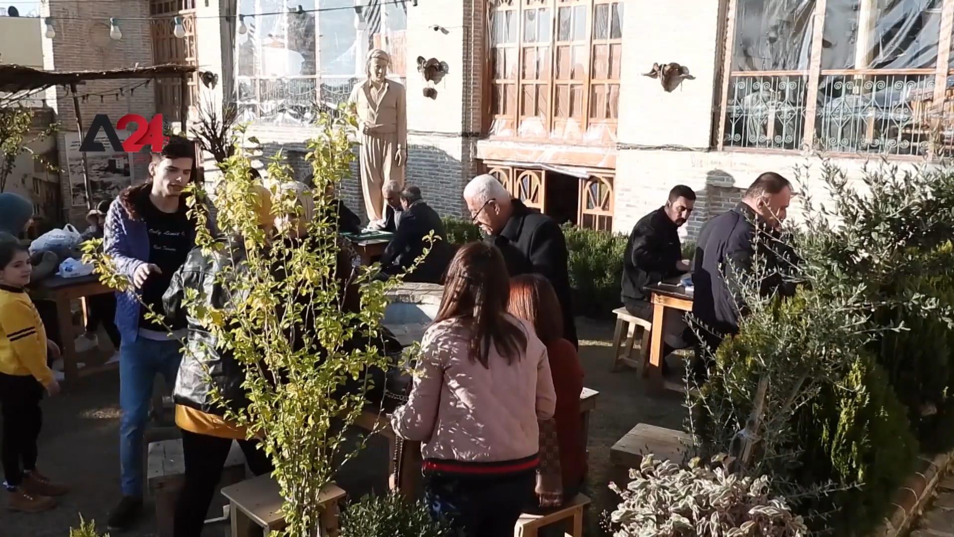 """العراق: """"صوفي كريم"""" يتحول من بيت إلى متحف للفلكلور الكردستاني"""