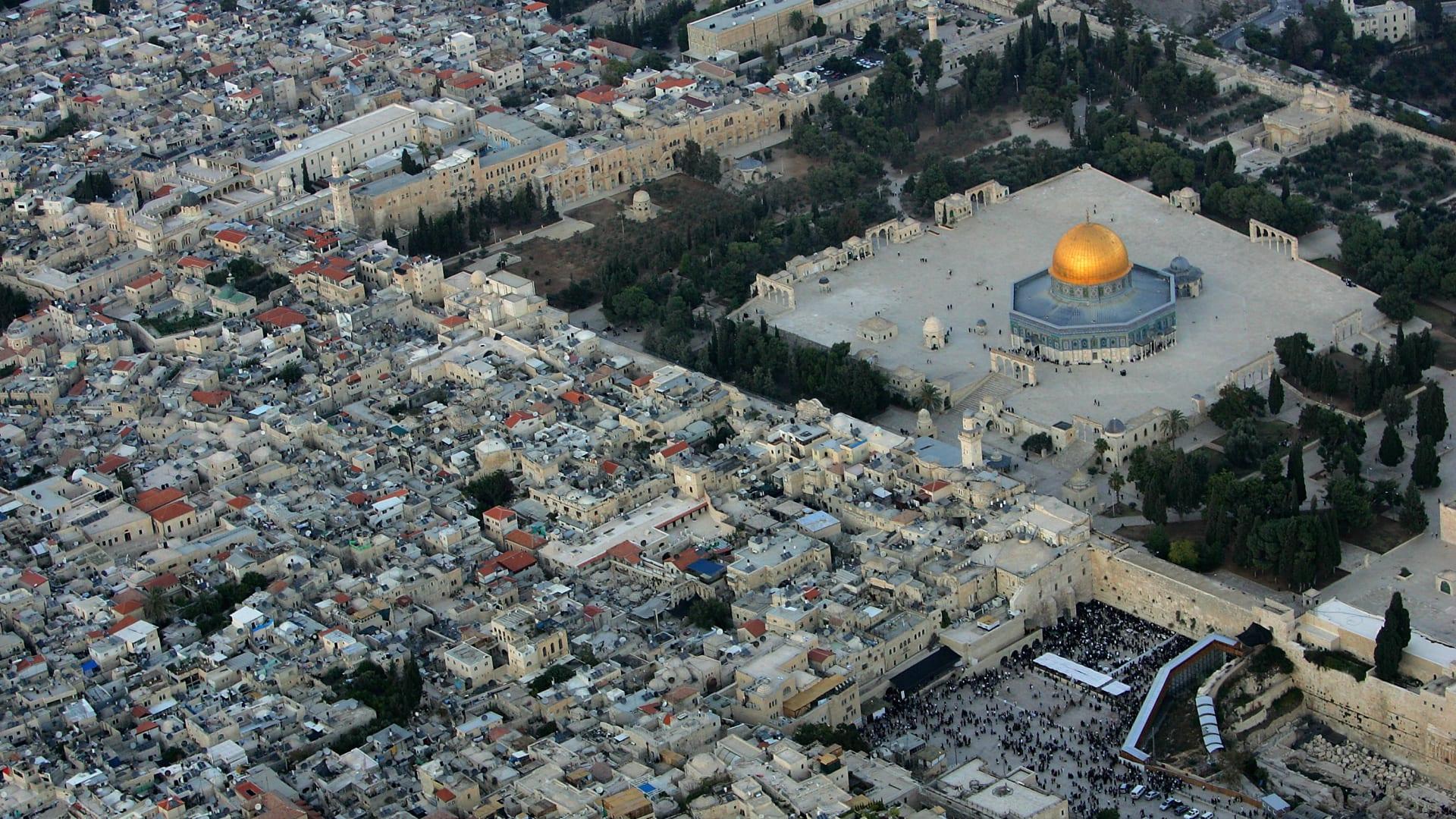 صورة أرشيفية عامة من القدس