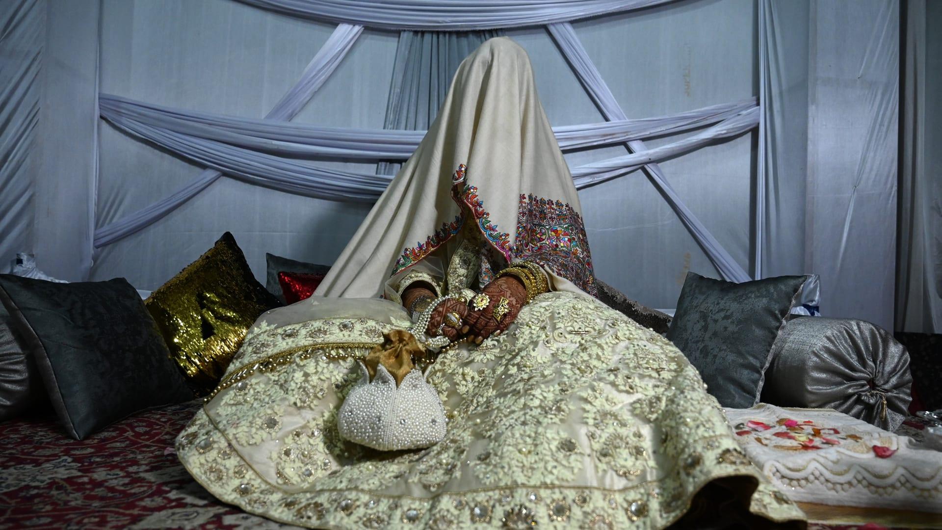 صورة أرشيفية (تعبيرية) لعروس في حفل زفاف تقليدي