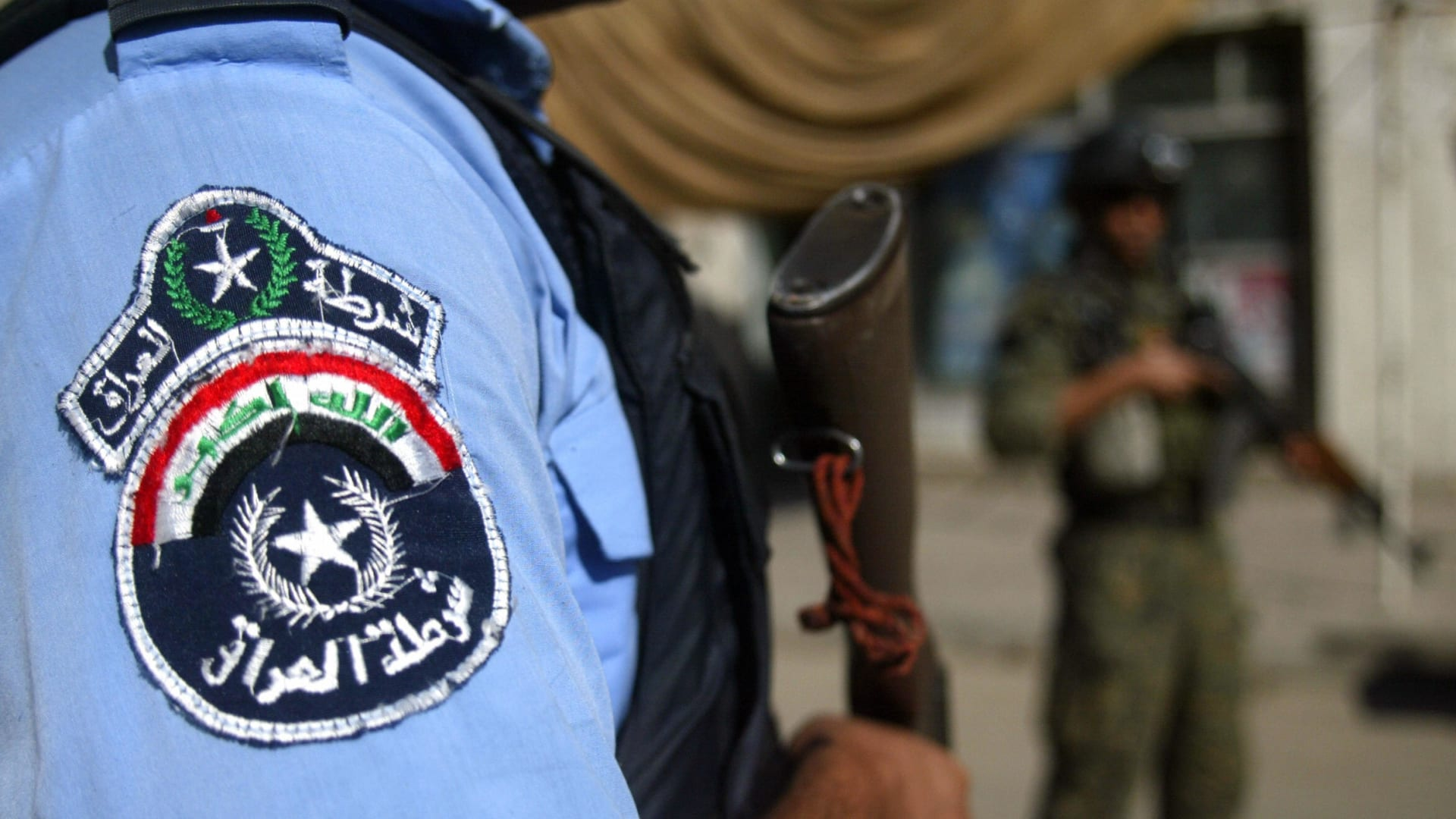 صورة ارشيفية لشعار الشرطة العراقية